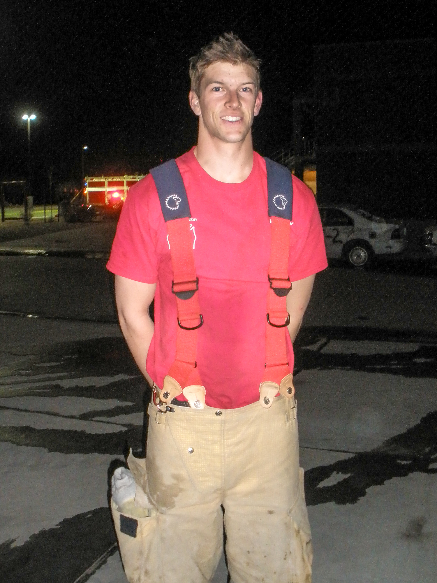 Phoenix Firefighter Brad Harper, 23, of Peoria, Arizona, died while on the scene of a two-alarm fire on May 19, 2013. Harper loved being a firefighter and had worked with the Phoenix Fire Department, where he was assigned to Rescue 21, for two years. He is survived by his wife, Lena; three younger brothers, Ryan, Daniel and Jacob; and parents, Bob and Cyndy.