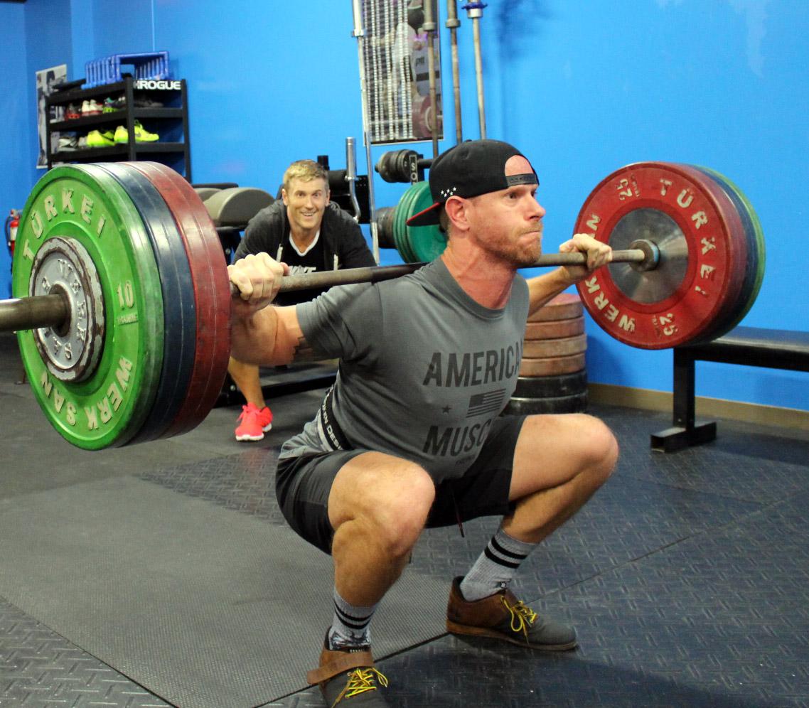 Ryan with 308 lbs