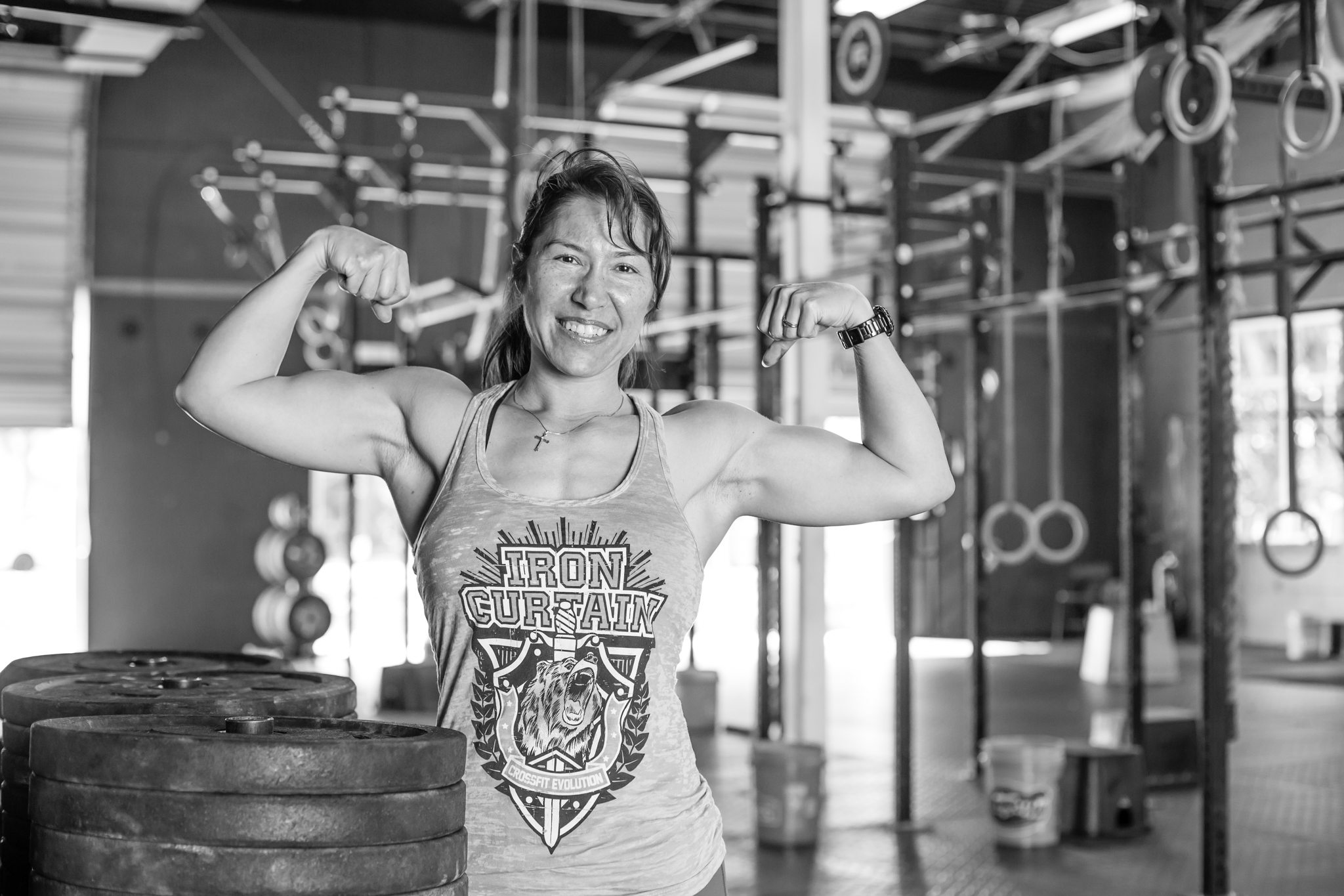 Monique Ames /  Monique@CrossFitEvolution.com  Owner, Operations Manager, Health & Wellness Coach CFEvo since 2007  Certifications: CrossFit Level-1 Trainer, CrossFit Nutrition, CrossFit Gymnastics, Olympic Weightlifting Coach, Performance Weightlifting Coach  +25 years experience in training, managing, & leading others 2017 & 2016 USA Weightlifting National Masters Champion, Gold 2017 American Masters Champion, Gold 2016 Pan-American Games, Silver CrossFit Journal: contributing writer CrossFit Risk Retention Group: Director (emeritus)  CrossFit FL Affiliate Gathering 2007-2011  Former: U.S. Marine and Law Enforcement