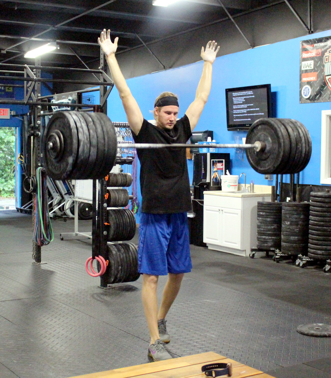 Andrei with 270 lbs