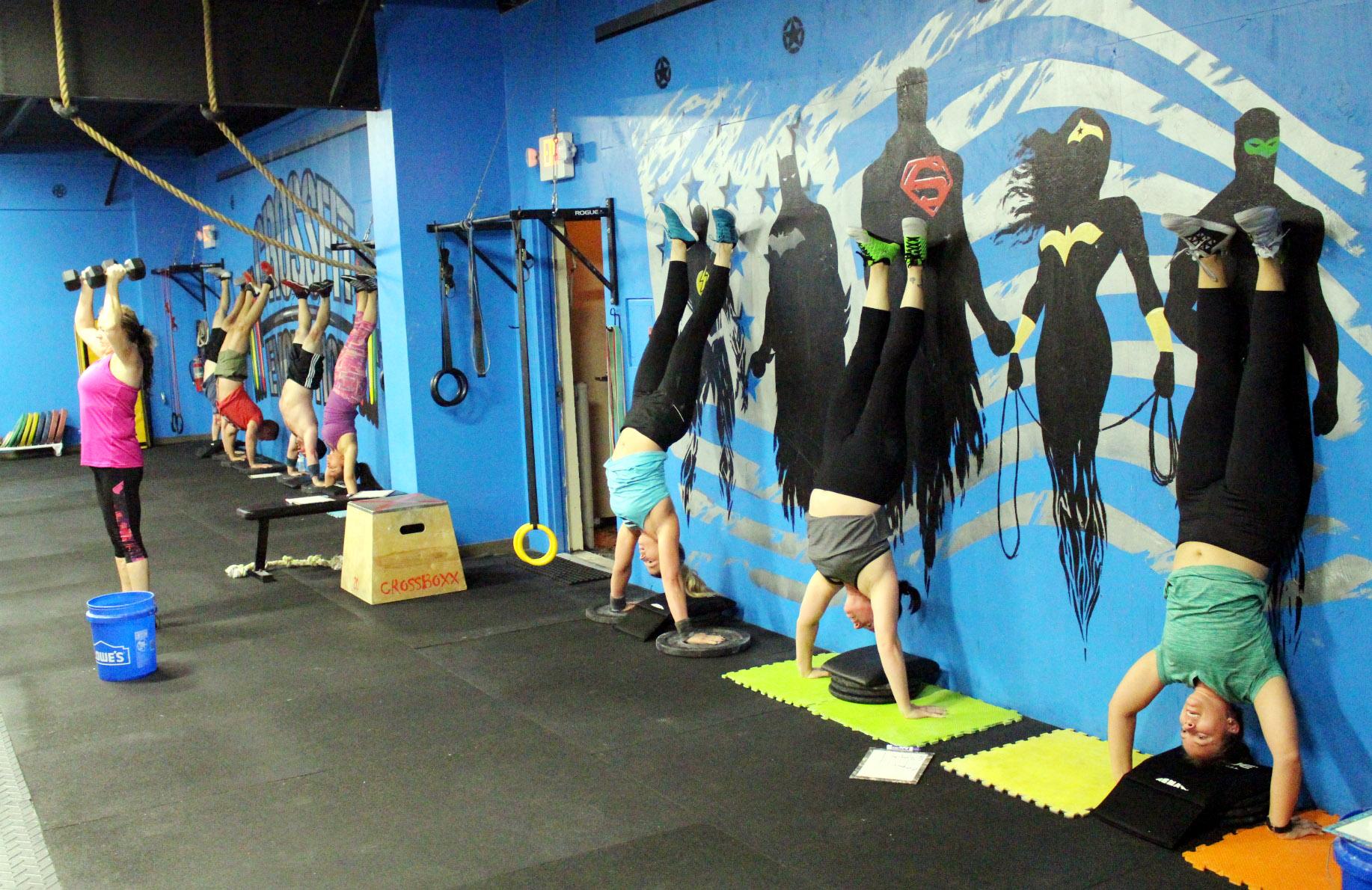 Handstand Push-ups & Shoulder Presses