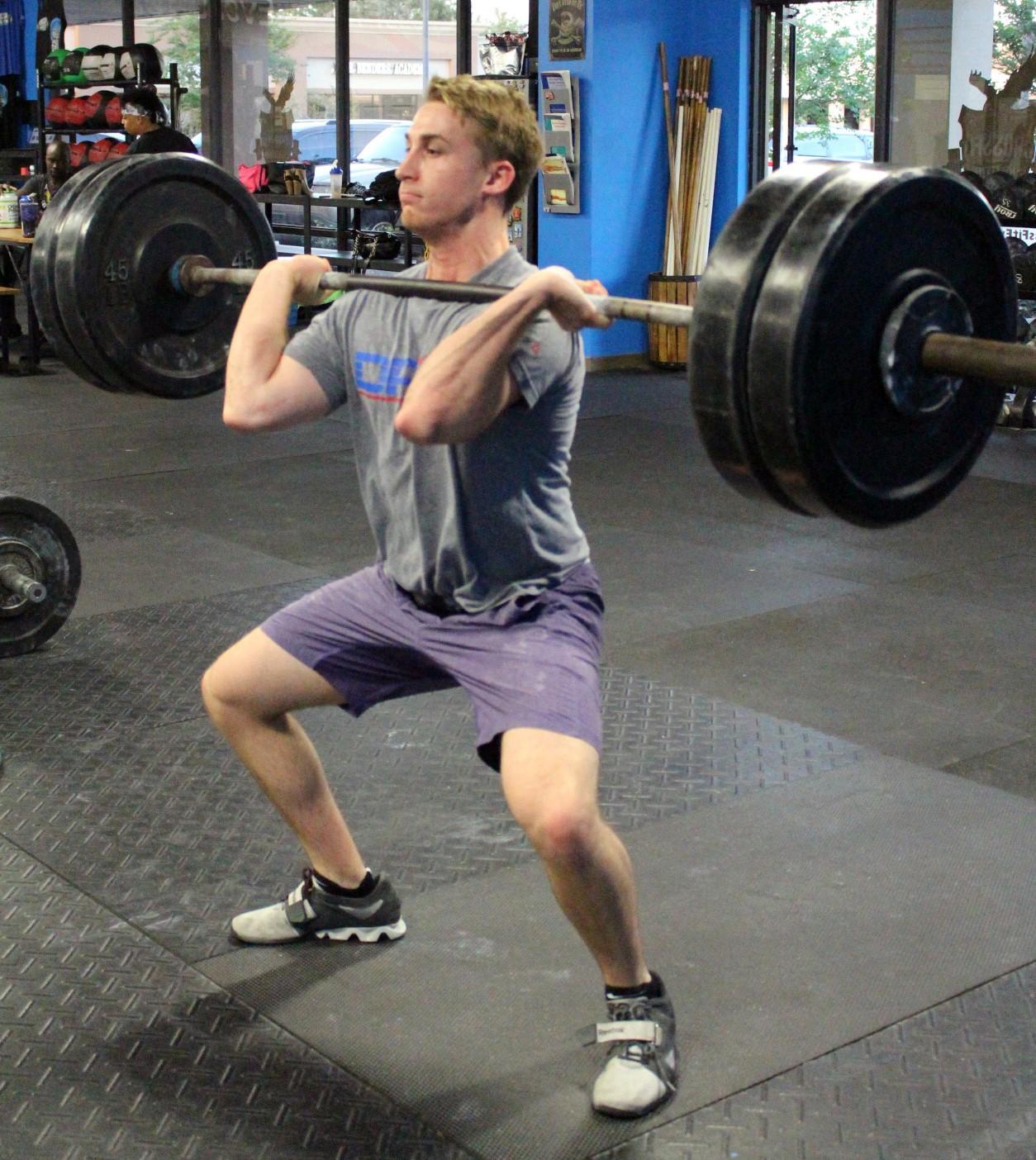 Garrett with 230 lbs