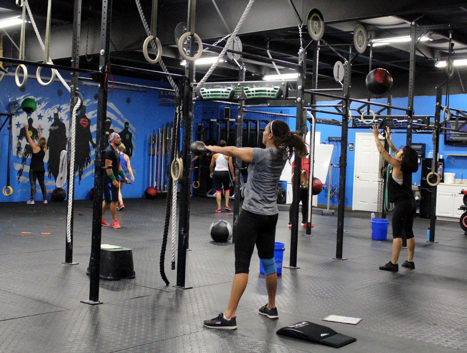 Swings & Wall Balls