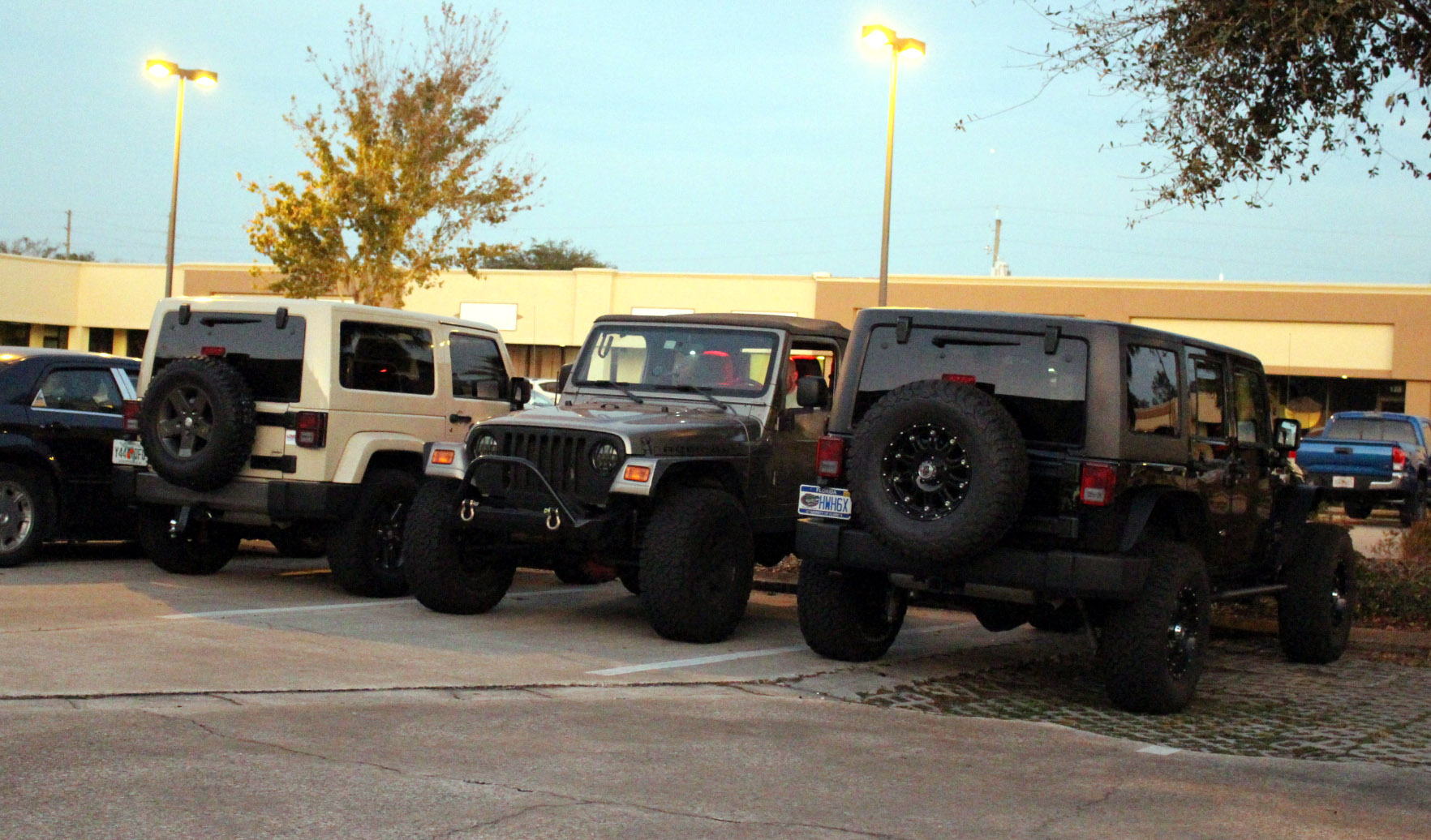 Small Jeeple gathering