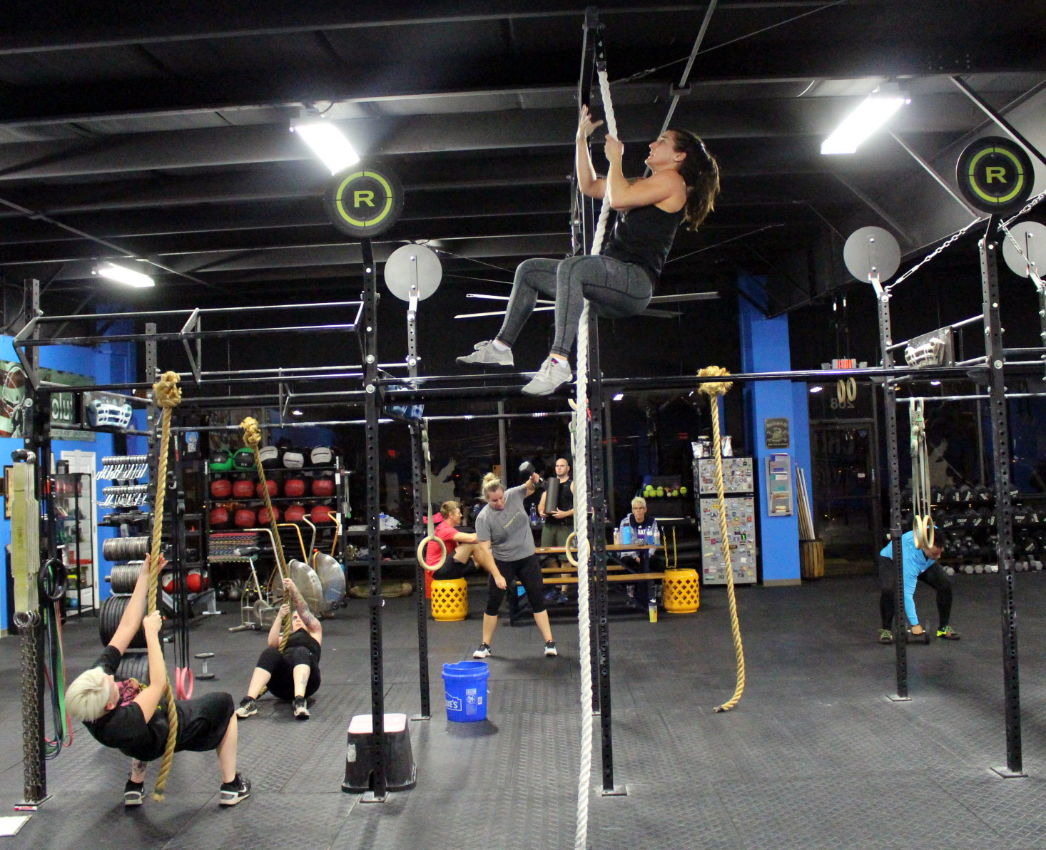 Rope Climbs & Rope Pulls