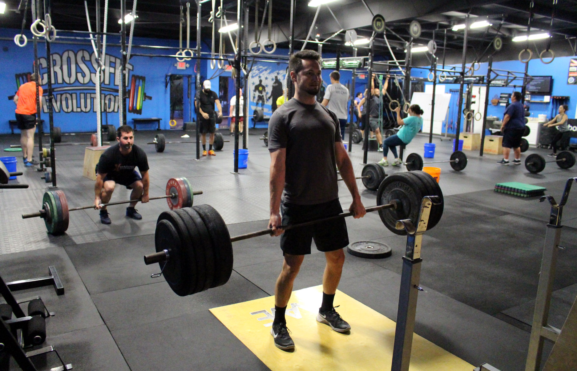 Monday, May 13, 2019 — CrossFit Evolution