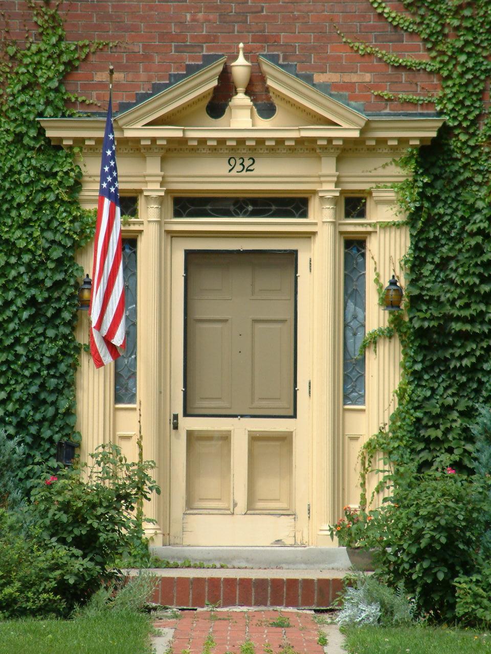 Colonial Revival Entrance
