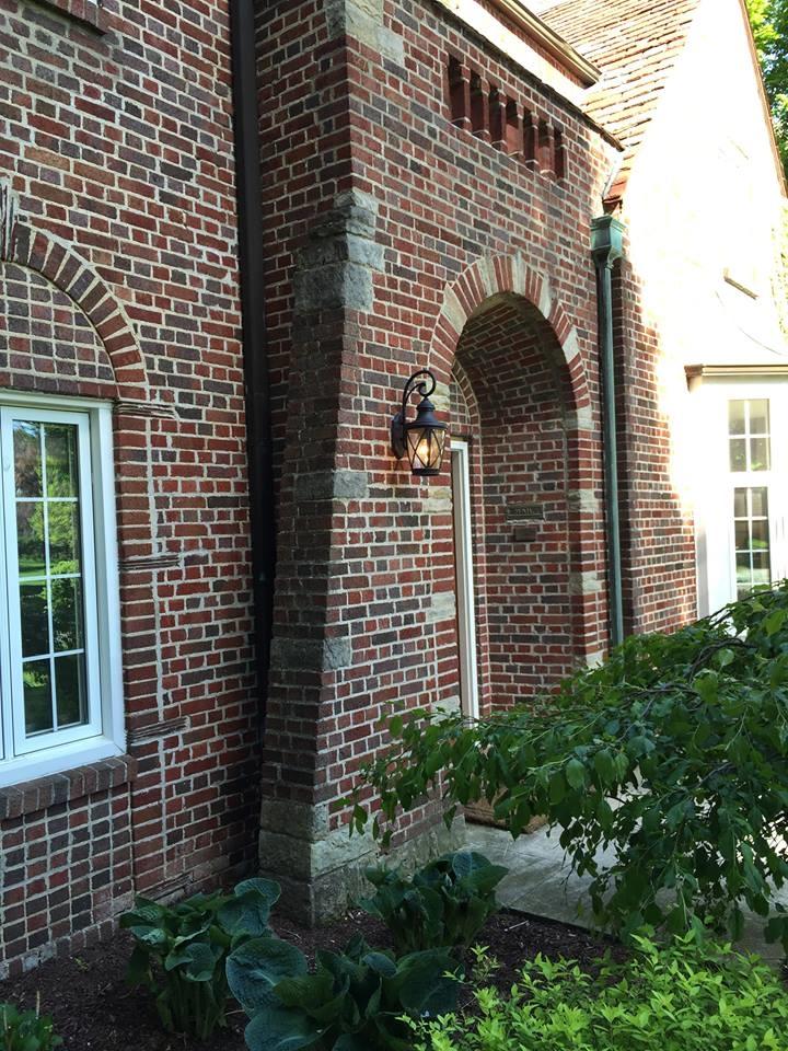 Tudor Revival Entrance
