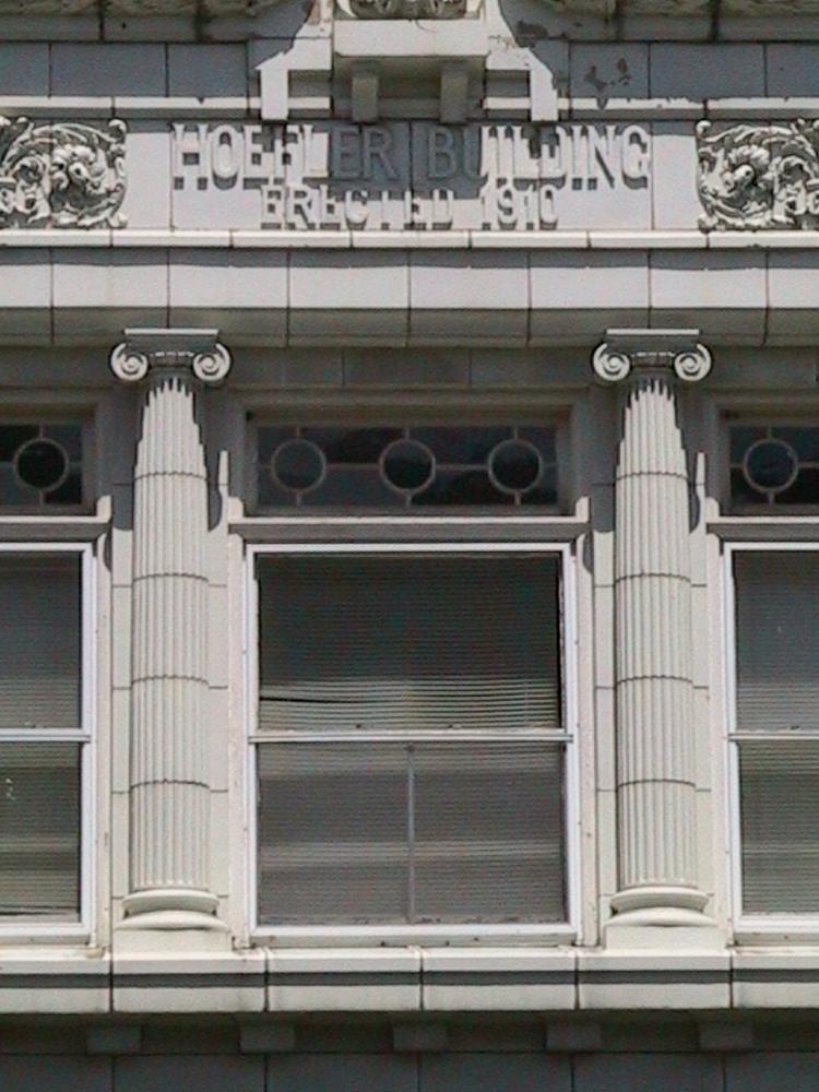 Engaged Ionic Columns