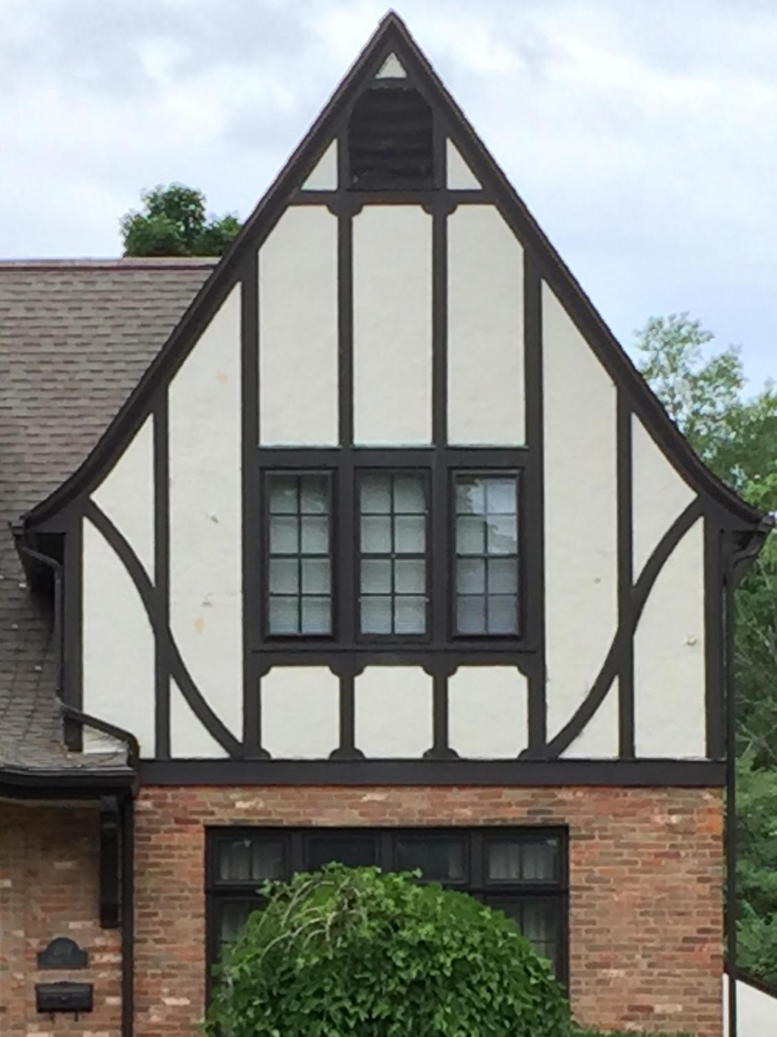 Half Timbering--Tudor Revival