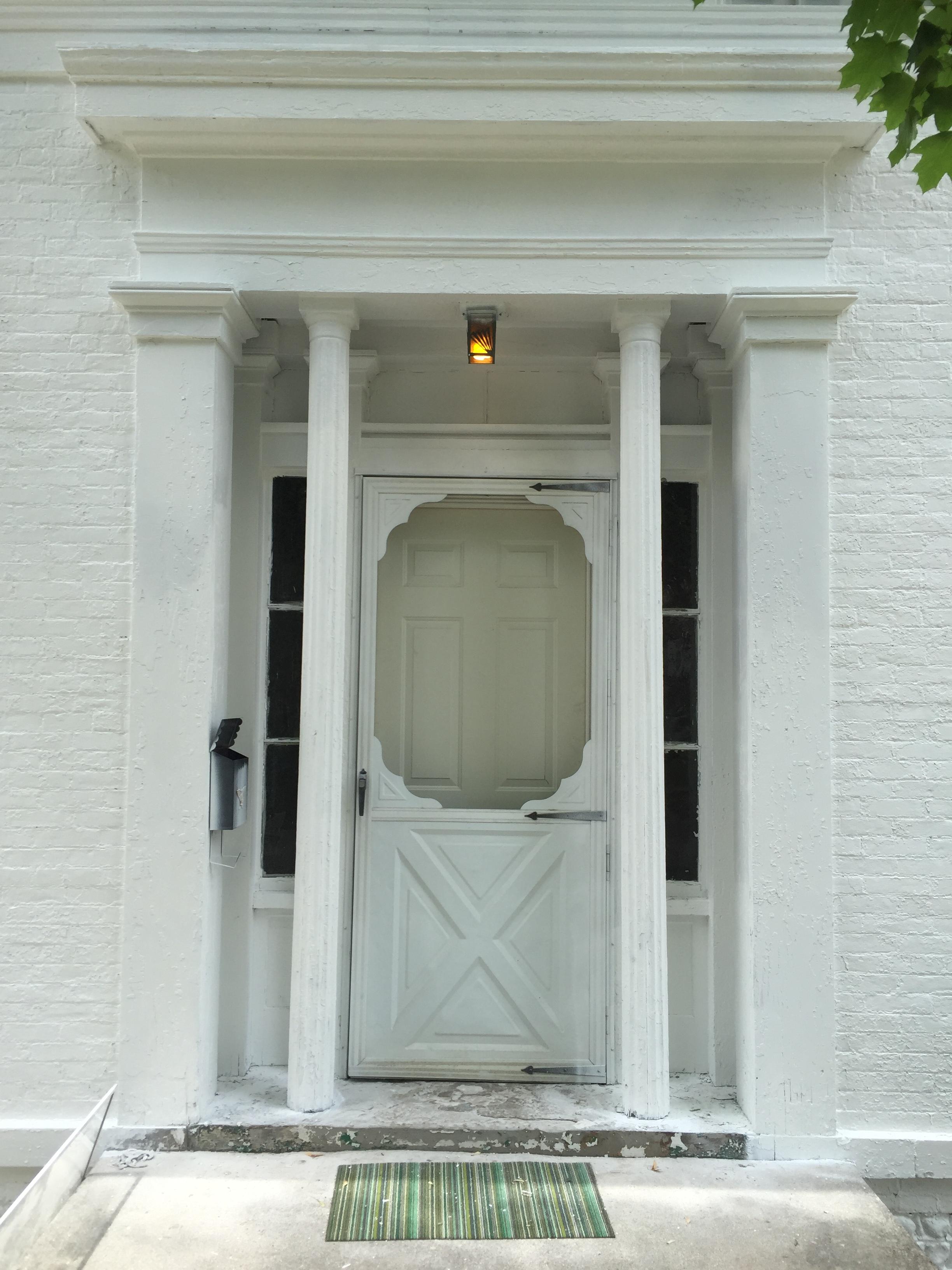 Greek Revival Entrance