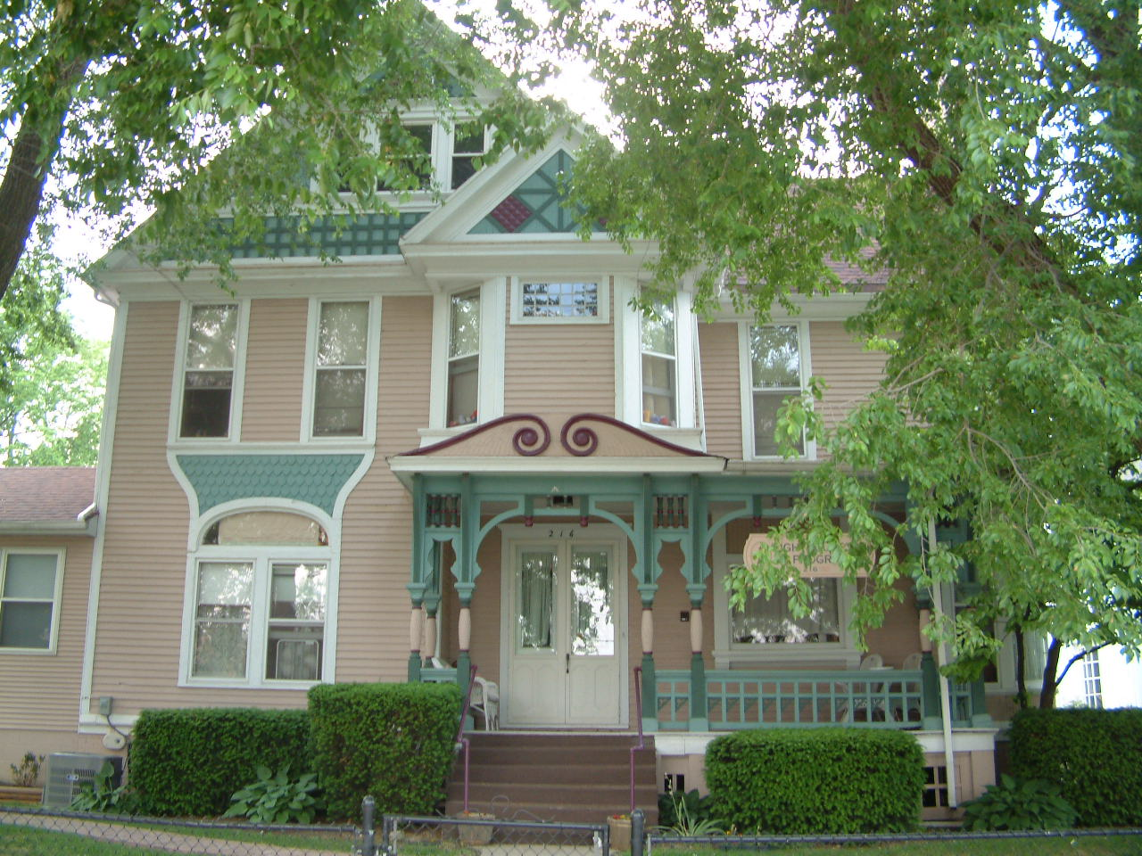 Rial Clay House, 216 Division Street, 1892