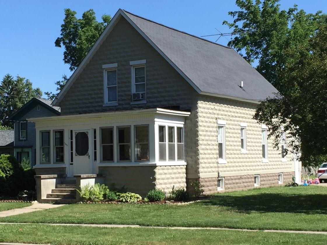 Concrete Block house,  1045 Michigan Ave