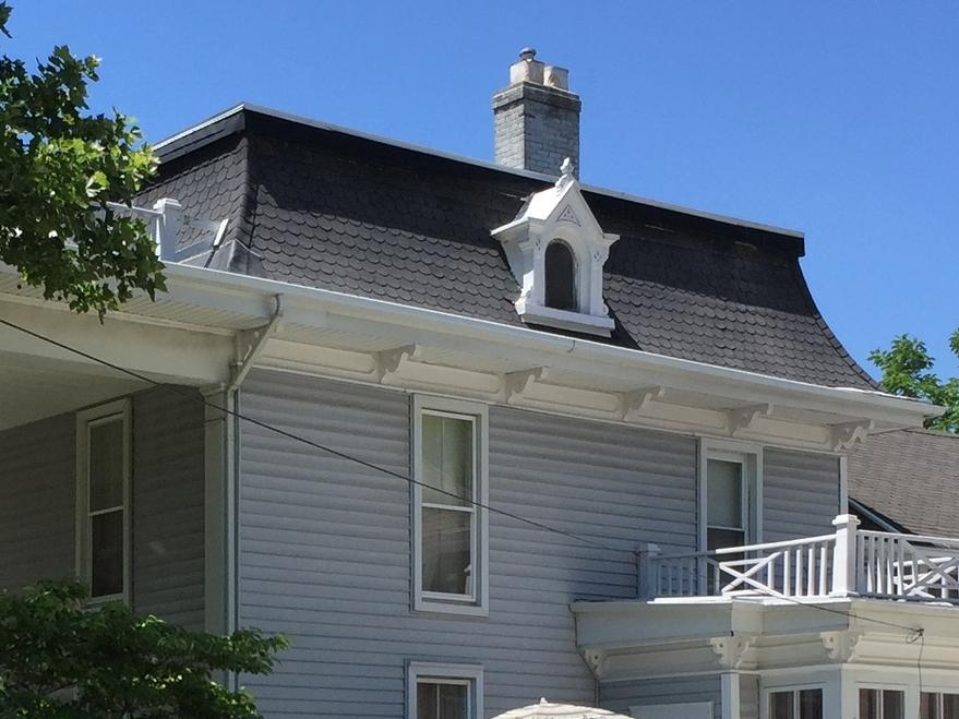 Mansard Roof--Second Empire