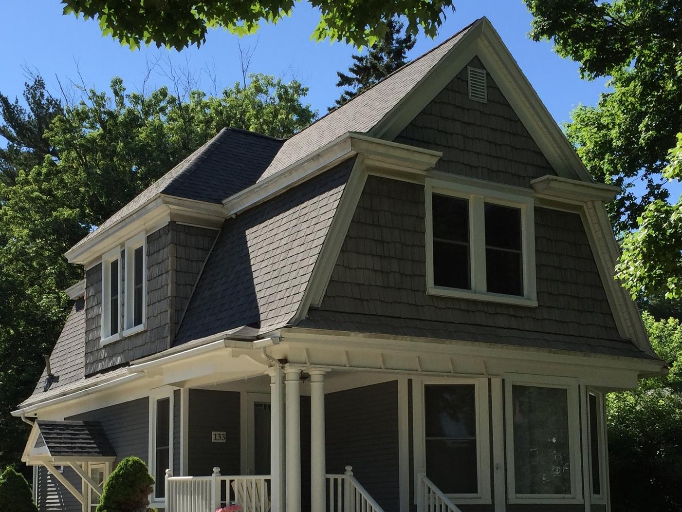 Gambrel Roof--Colonial Revival