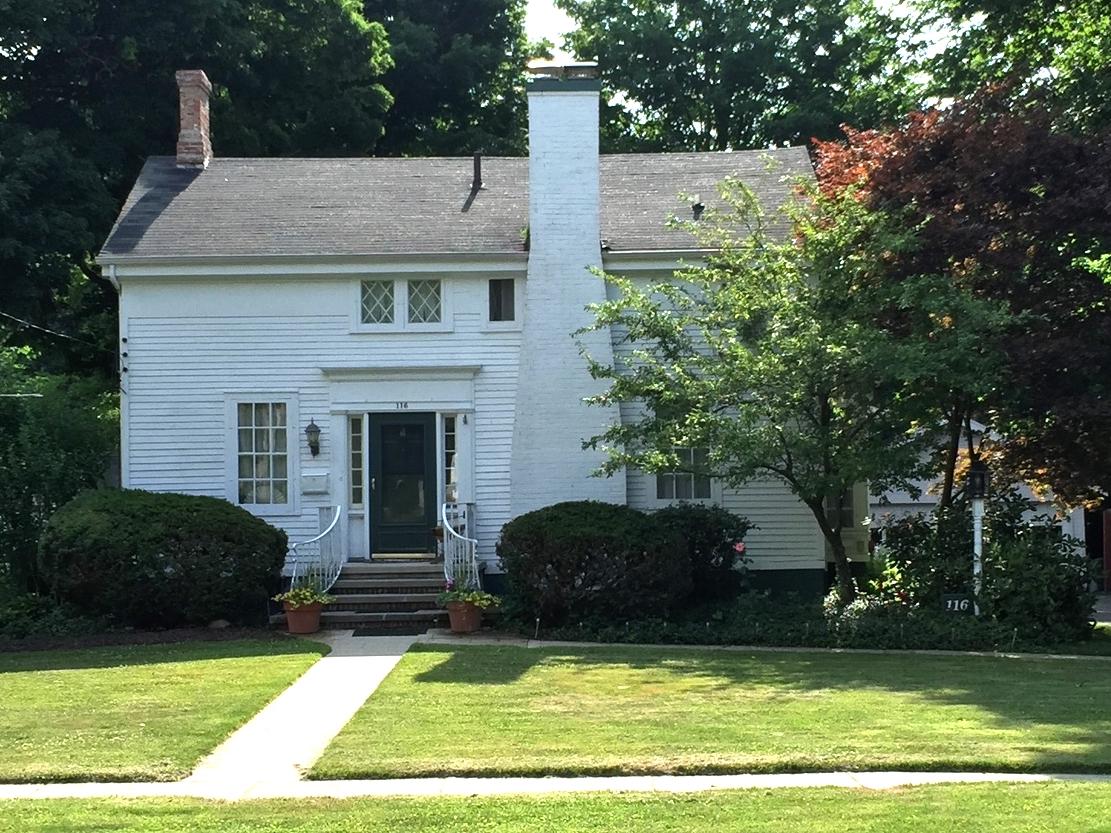 Edwards House,  116 North Scott Street, c. 1850