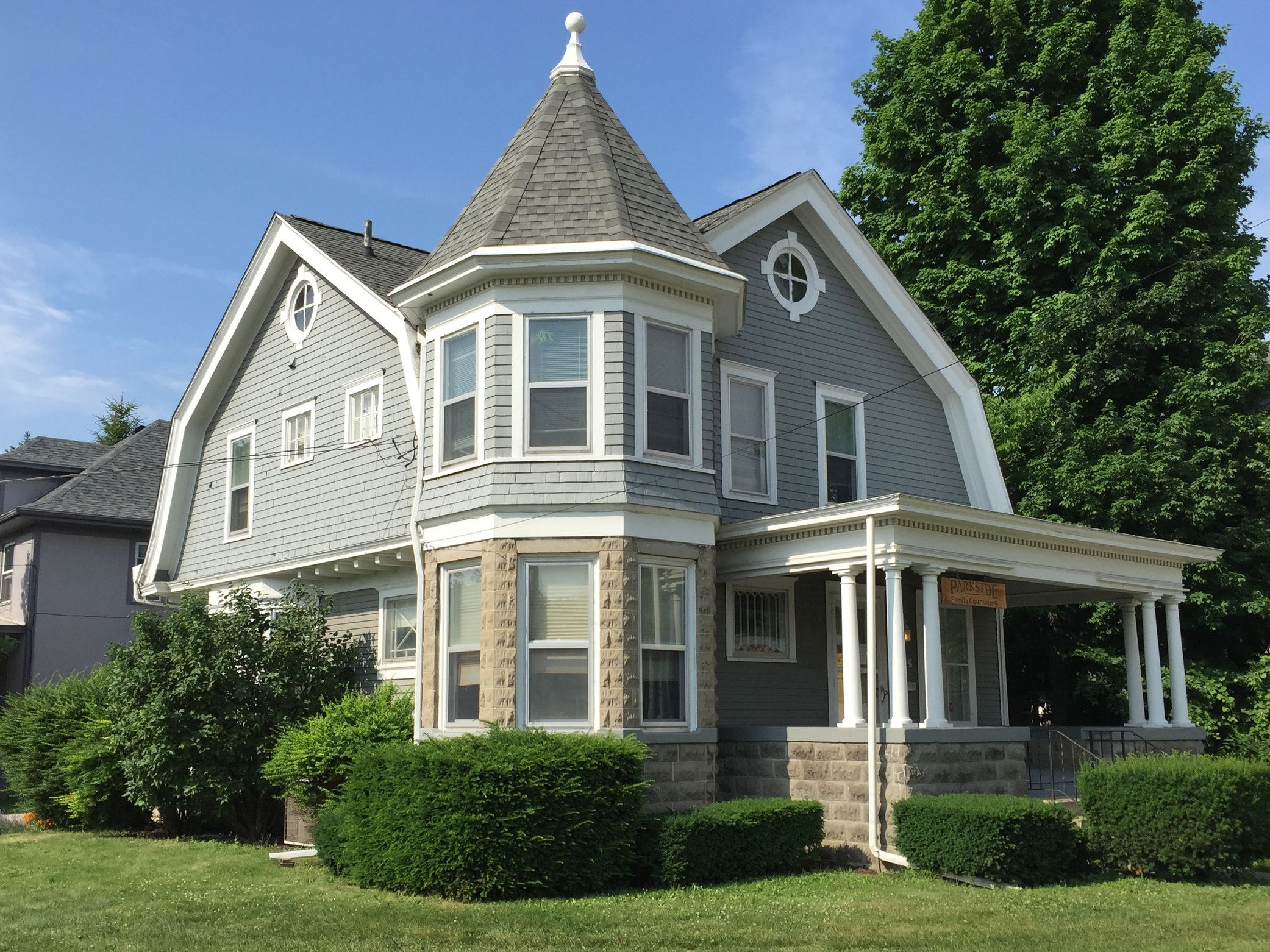 Shingle Style, Dr. E. T.Morden House, 805 West Maumee Street, c. 1905