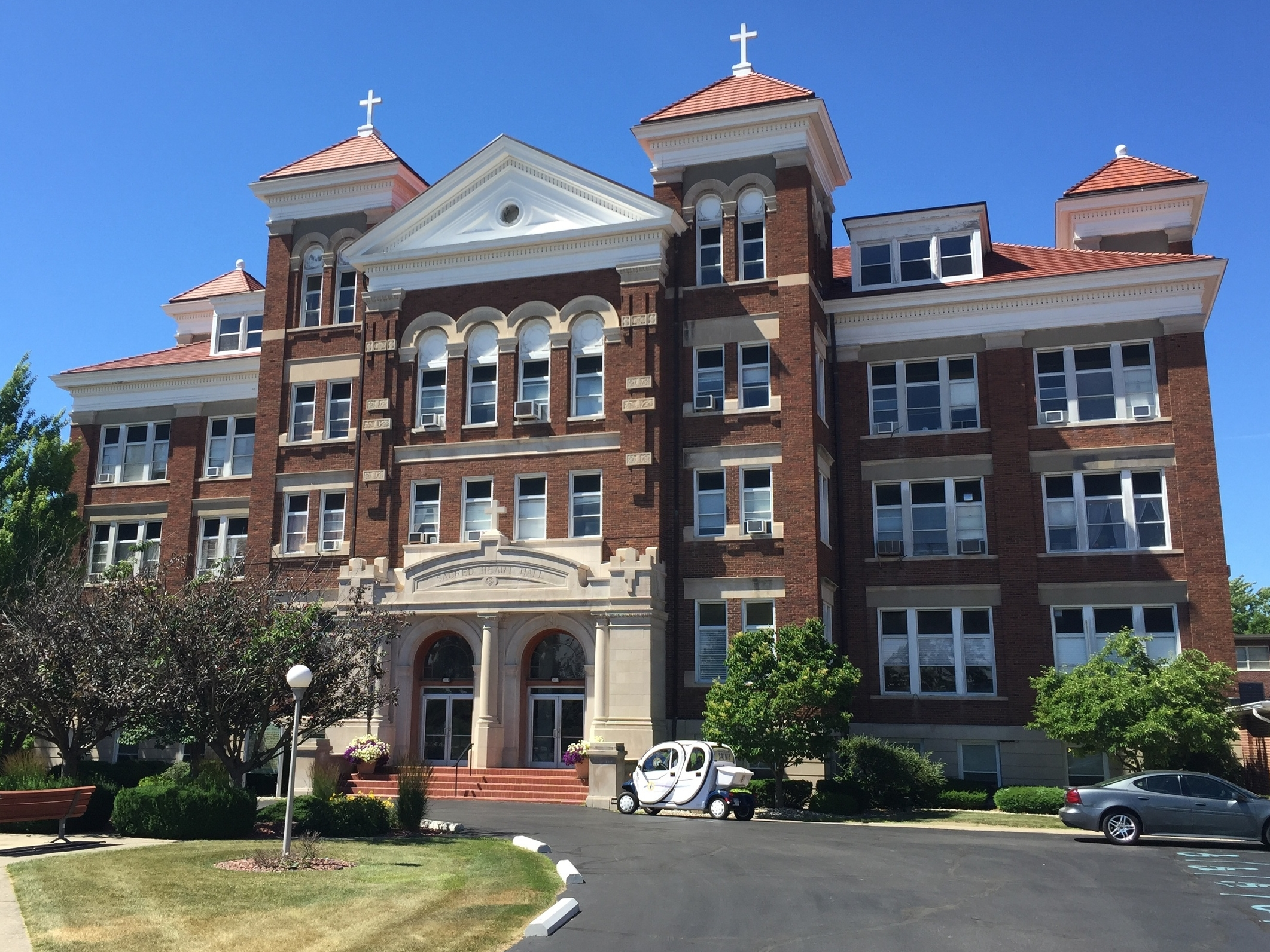 Sacred Heart Hall, Siena Heights University, 1247 East Siena Heights Drive, 1922