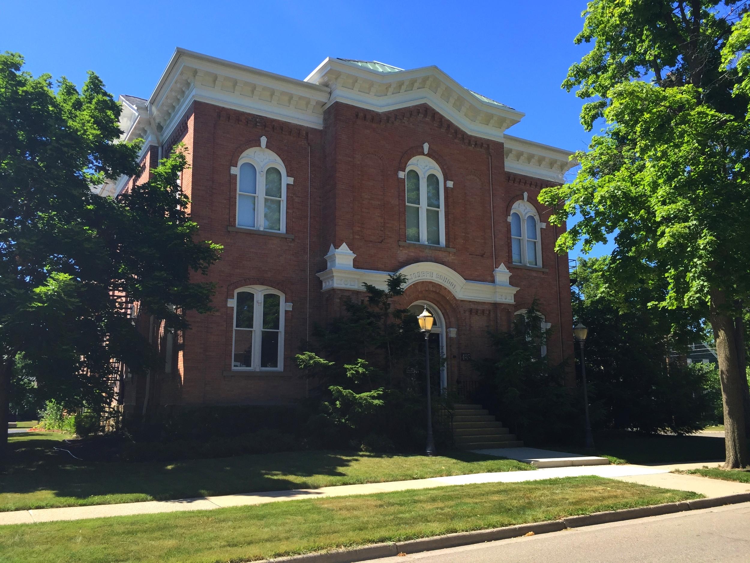 Saint Joseph's School, 417 Ormsby Street, 1884