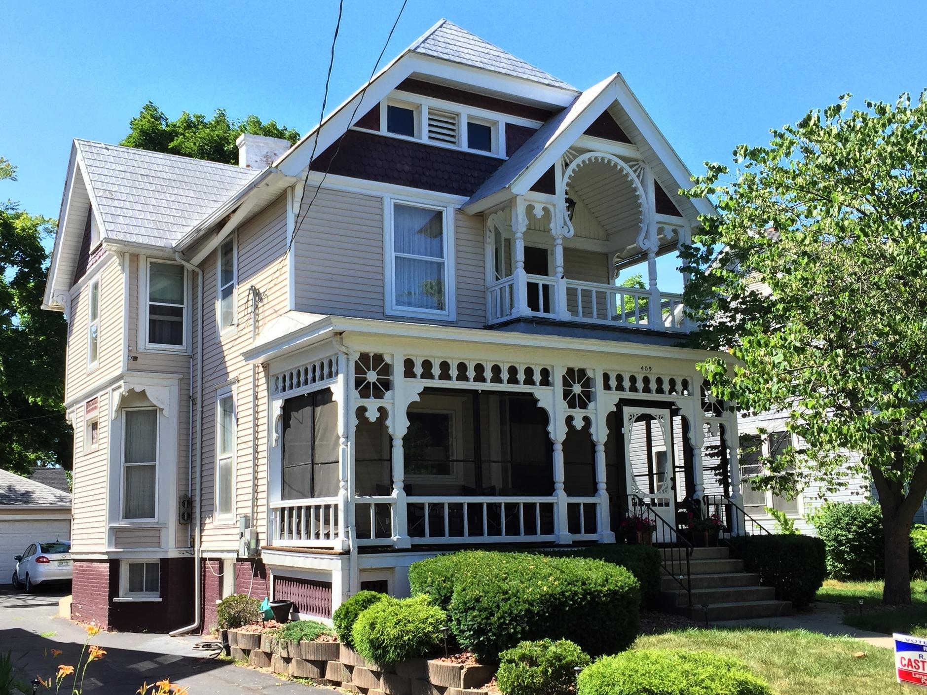 Herman Matthes House, 409 Finch Street, c. 1895