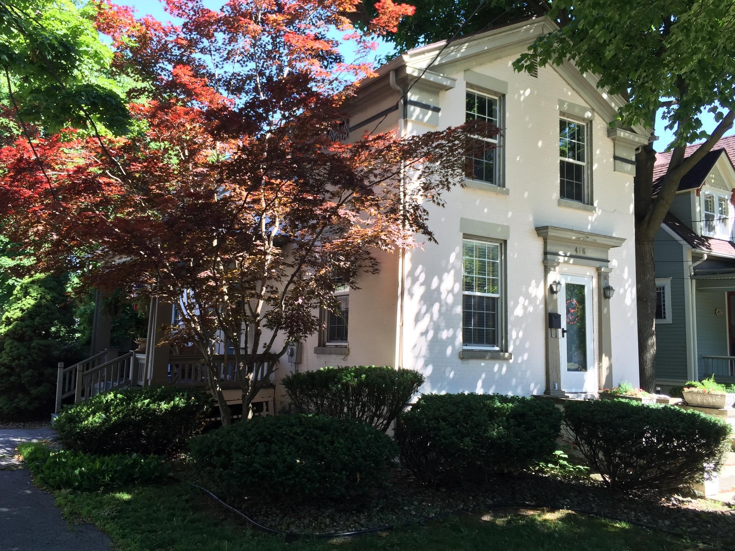 Marvin Thompson House, 416 North Broad Street, 1849