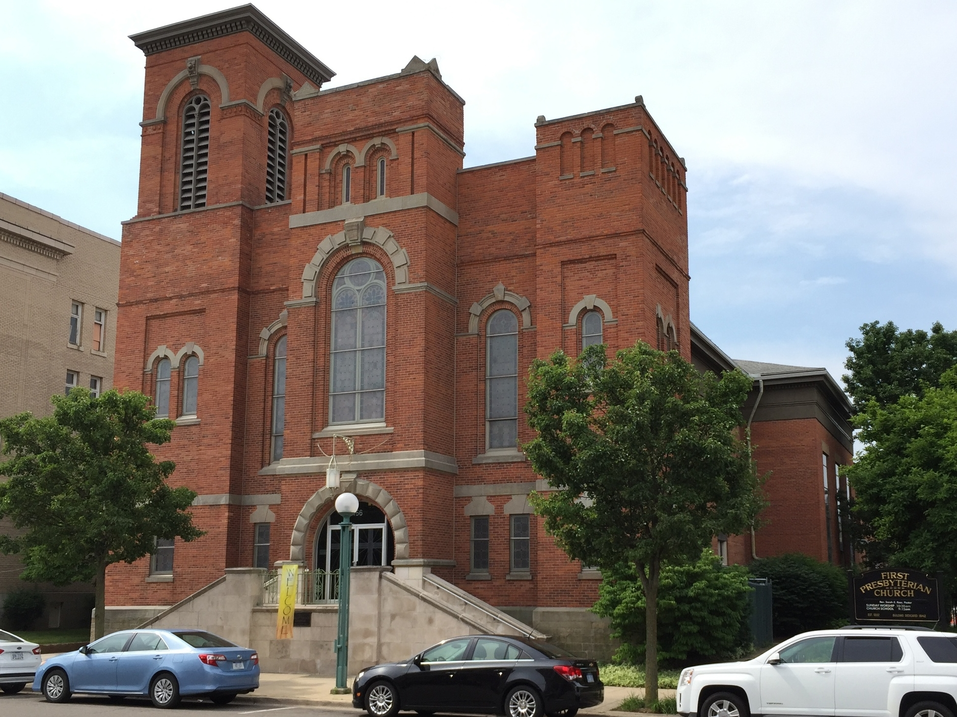 First Presbyterian Church, 156 East Maumee Street, 1869