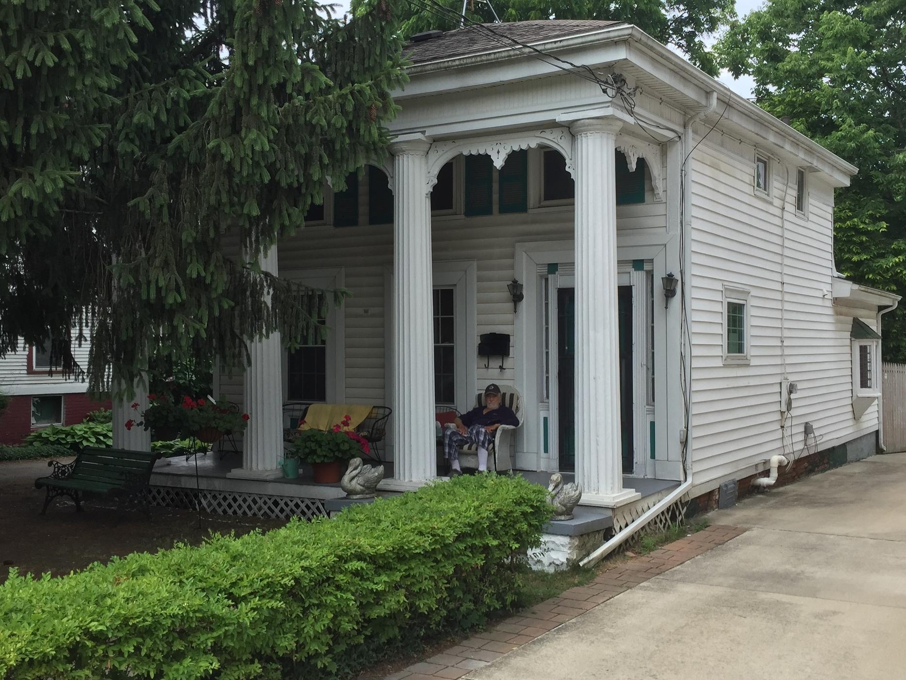 Merrick House, 458 South Main Street, 1853