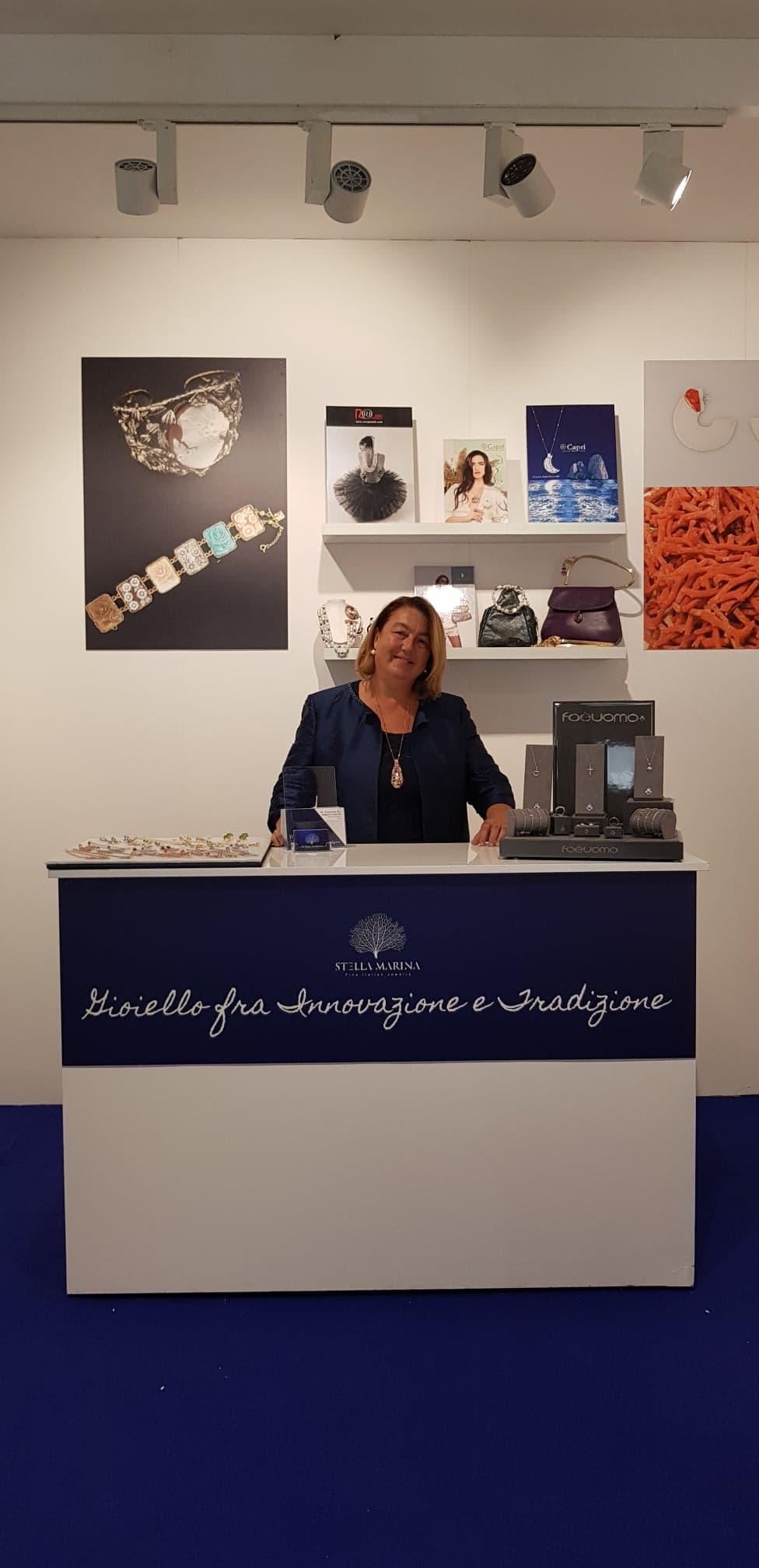 Marina Martinelli, General Manager of Stella Marina Jewelry
