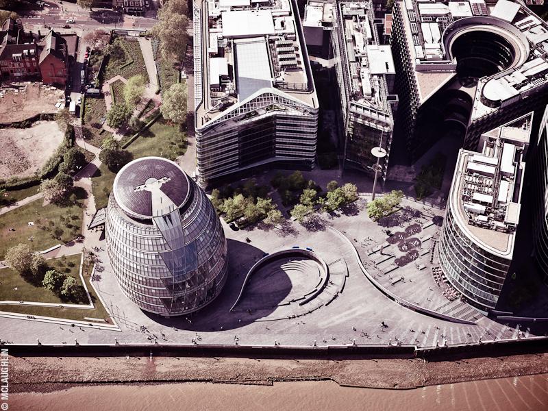 Goodyear Blimp Airship London Flight London Aerial Photography Hasselblad Jay McLaughlin Mayor of London City Hall