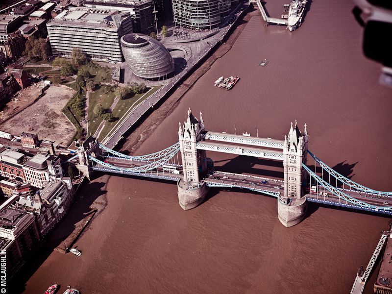 Goodyear Blimp Airship London Flight London Aerial Photography Hasselblad Jay McLaughlin Tower Bridge