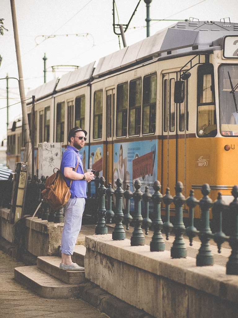 Jay McLaughlin Fat Weight Loss Transformation Journey Budapest Hungary Tram