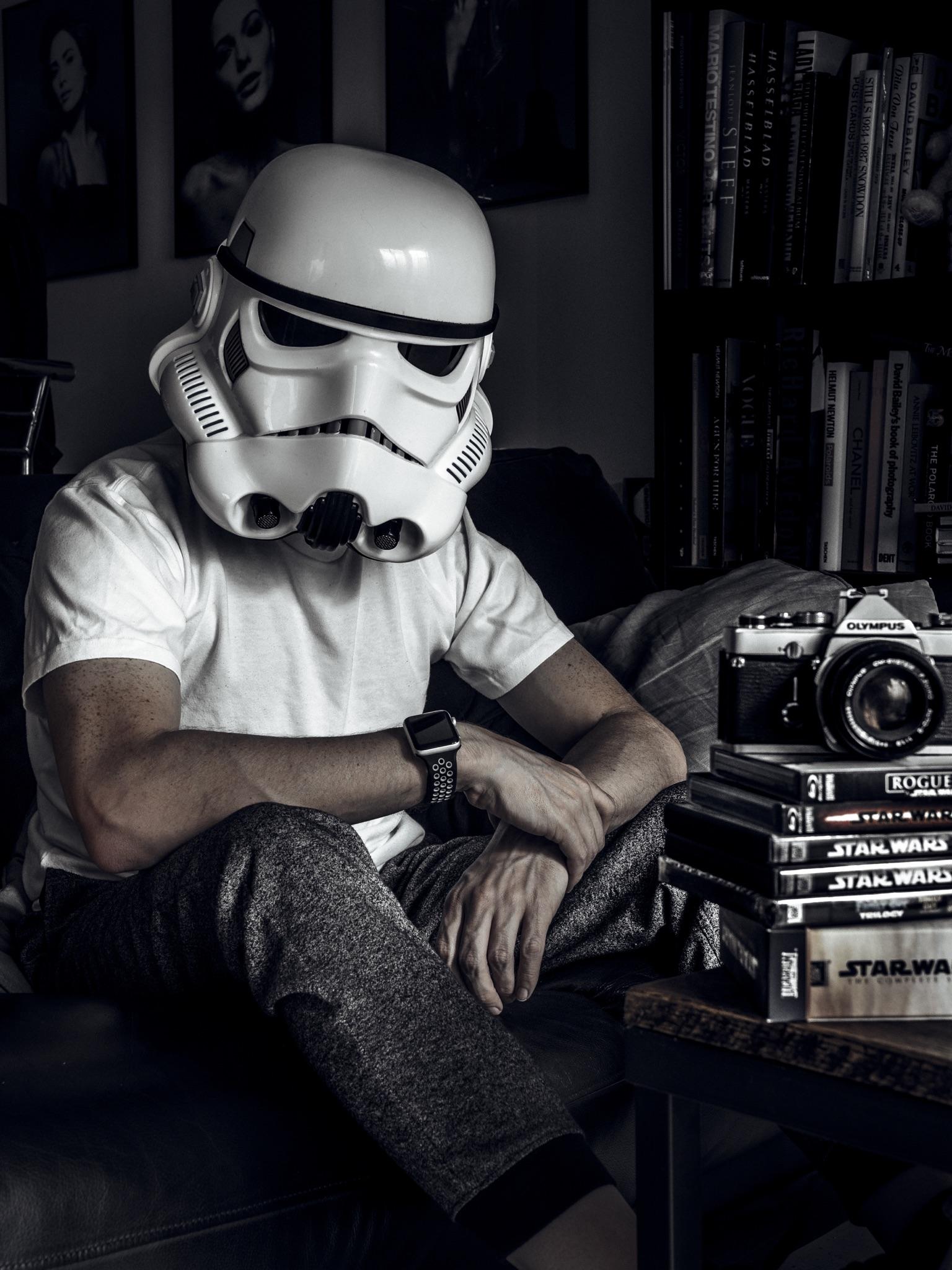 Jay McLaughlin Stormtrooper Star Wars Fan Blu-ray Bluray DVD