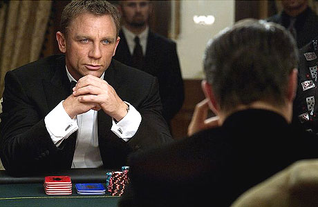 James Bond Style Icon 007 Poker Casino Royale Daniel Craig