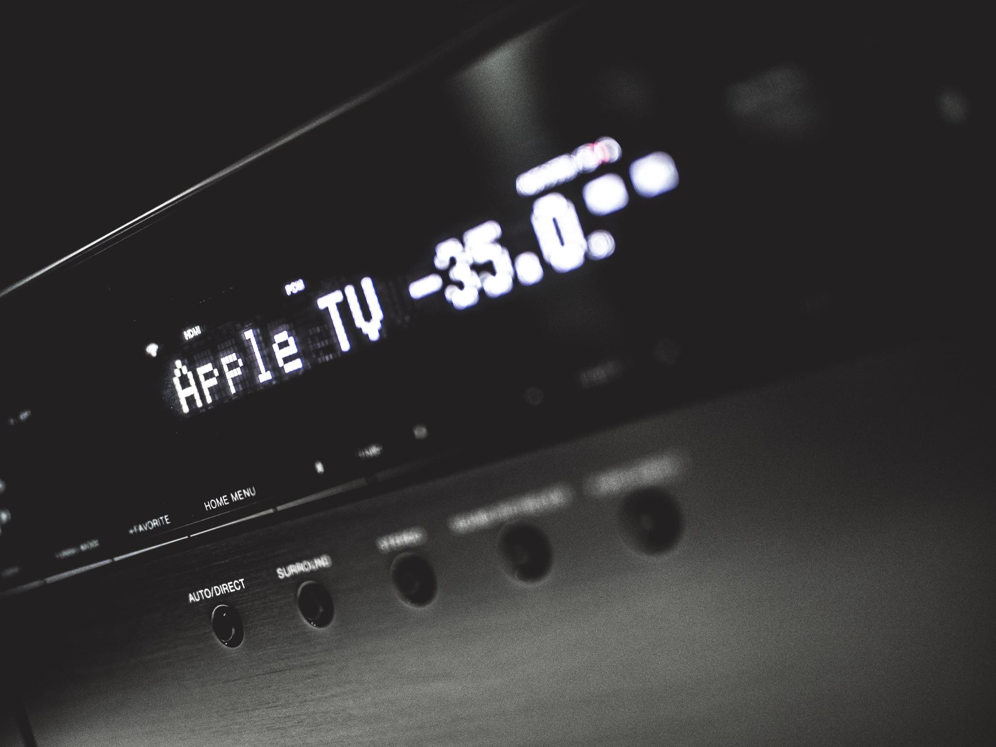 Home Cinema AV Surround Sound Pioneer VSX-932 Receiver Initial Setup Apple TV
