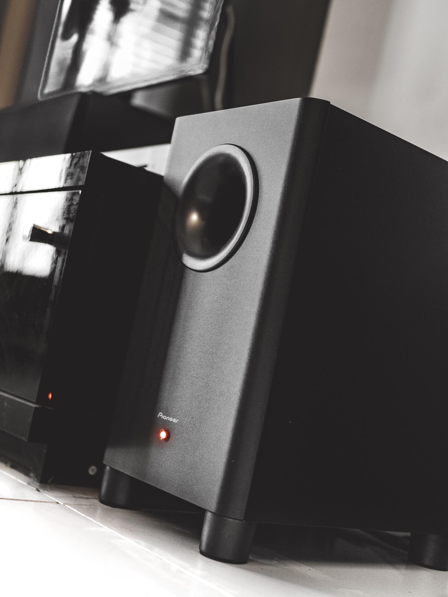 Home Cinema AV Surround Sound Pioneer VSX-932 Receiver Subwoofer Bass