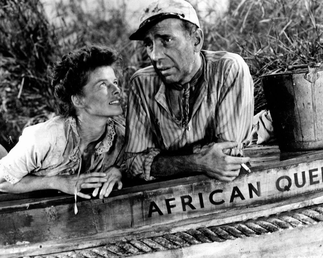 Humphrey Bogart Katherine Hepburn The African Queen Classic Movie Review