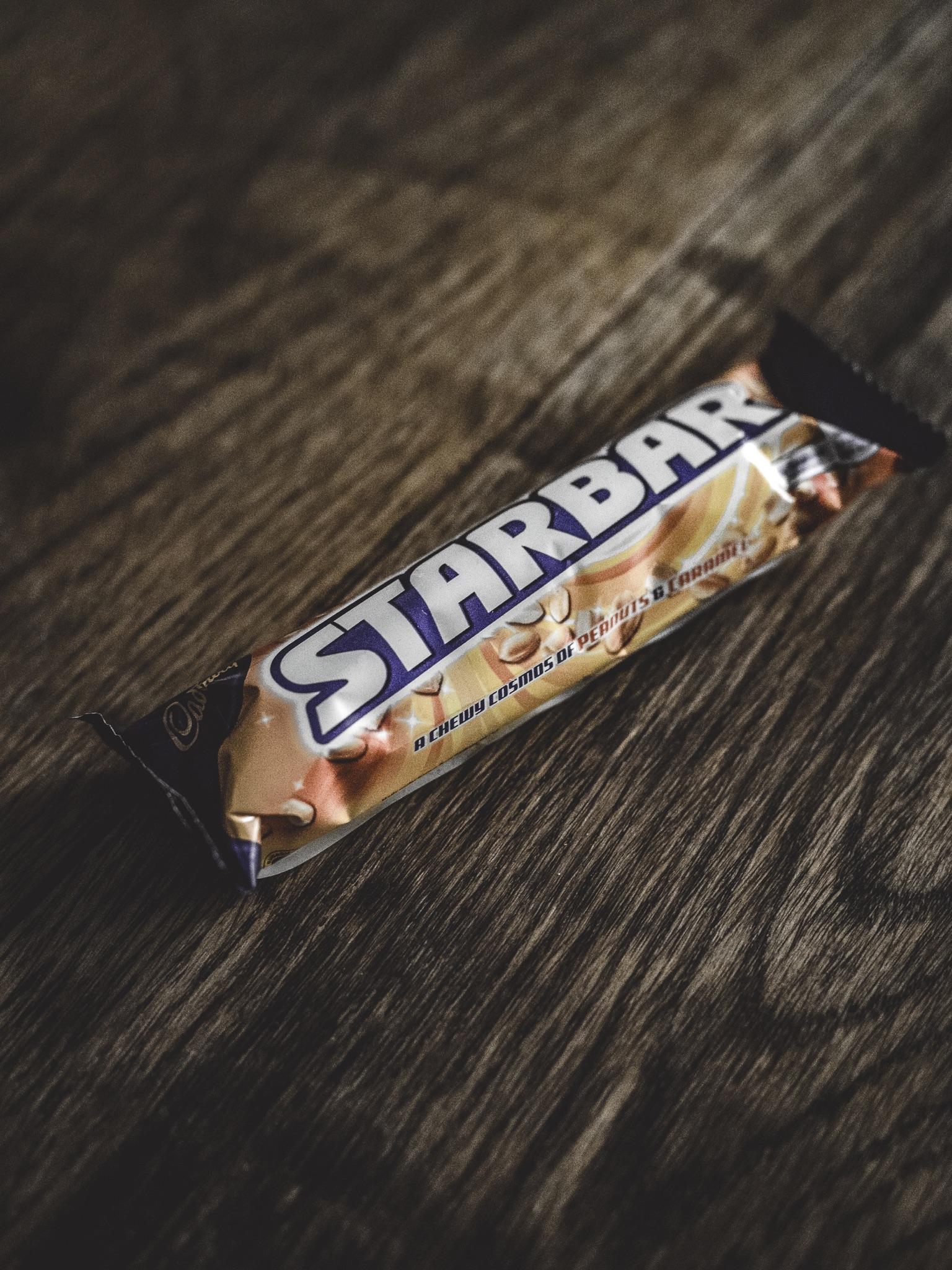 Cadbury's Cadbury Starbar Review Chocolate Caramel Peanut Peanuts