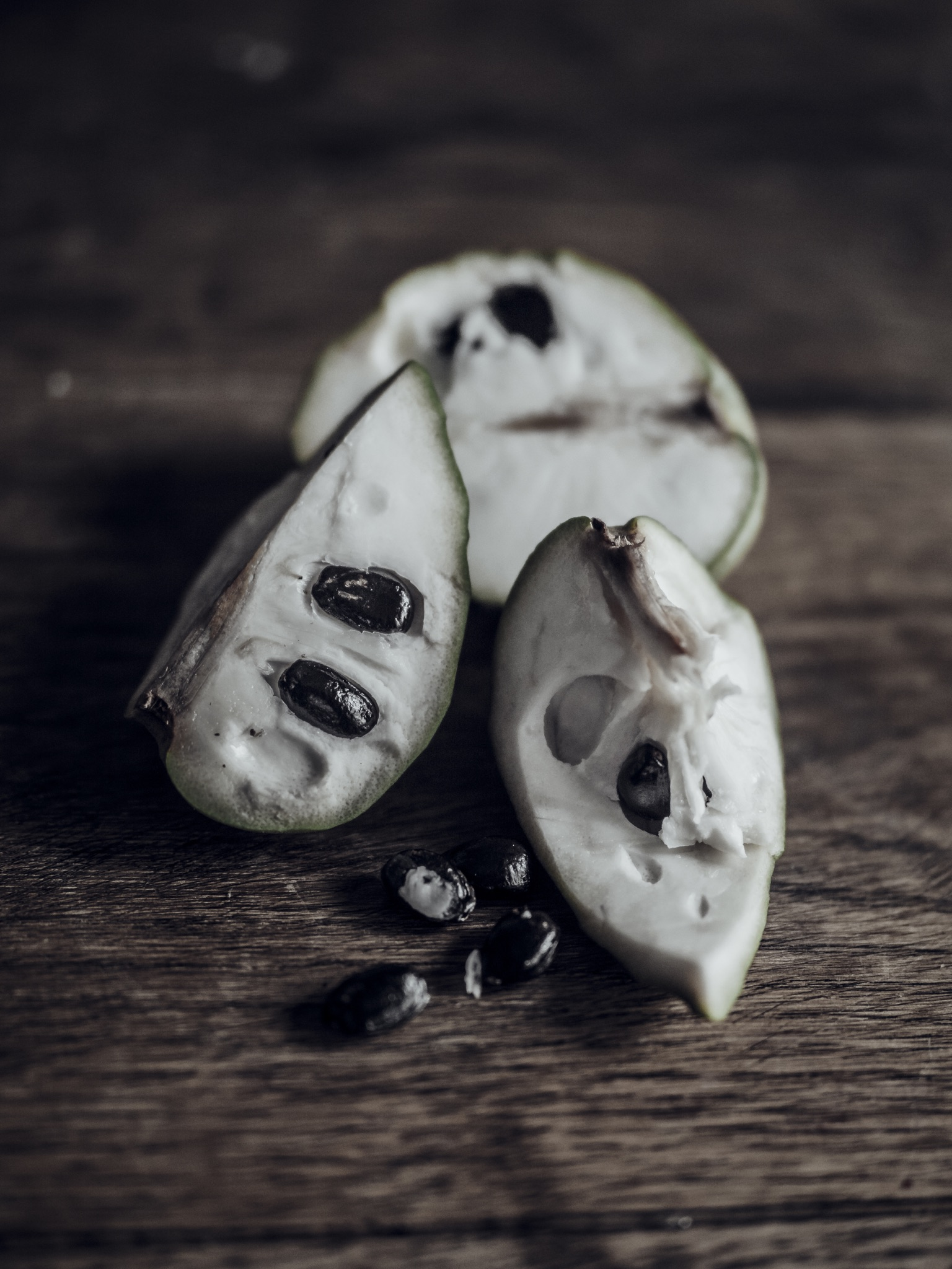 Weird Fruit Cherimoya