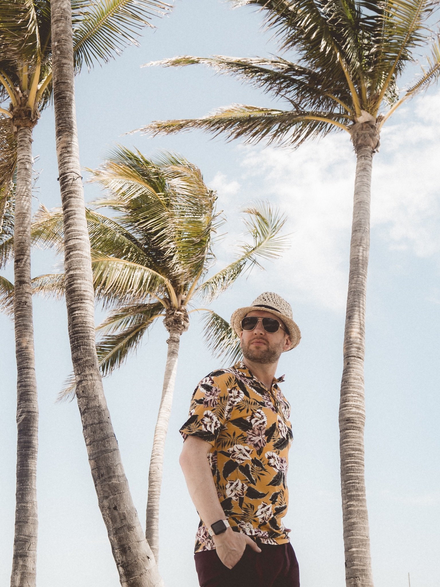 Jay McLaughlin Miami Palm Trees Photographer Blogger Influencer