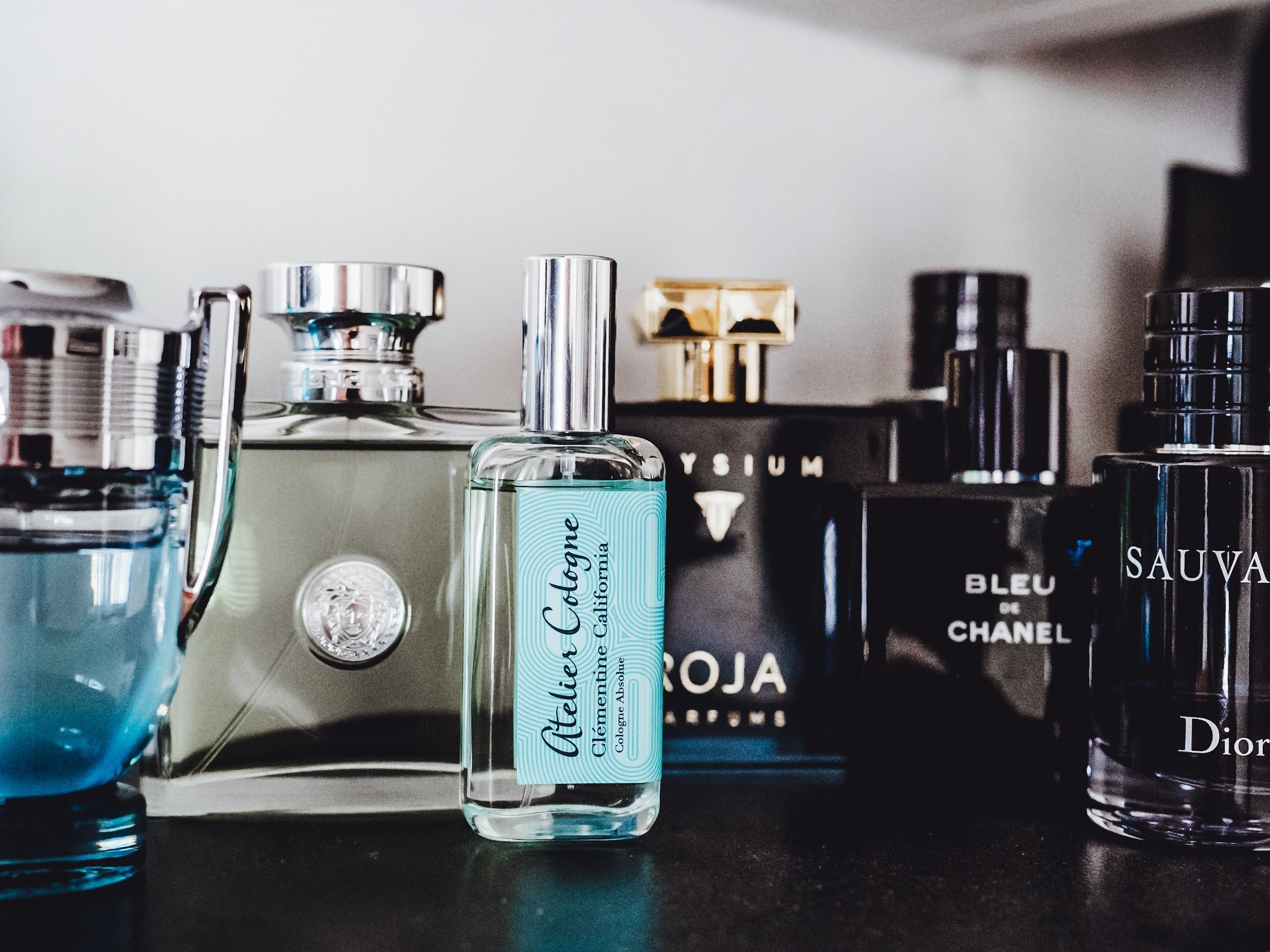 Paco Rabanne Invictus Aqua Versace Versense Atelier Cologne Clementine California Elysium Roja Dove Bleu de Chanel Dior Sauvage Fragrance Fragrances Collection