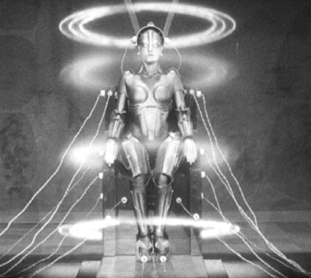 Metropolis 1927 Fritz Lang movie review robot