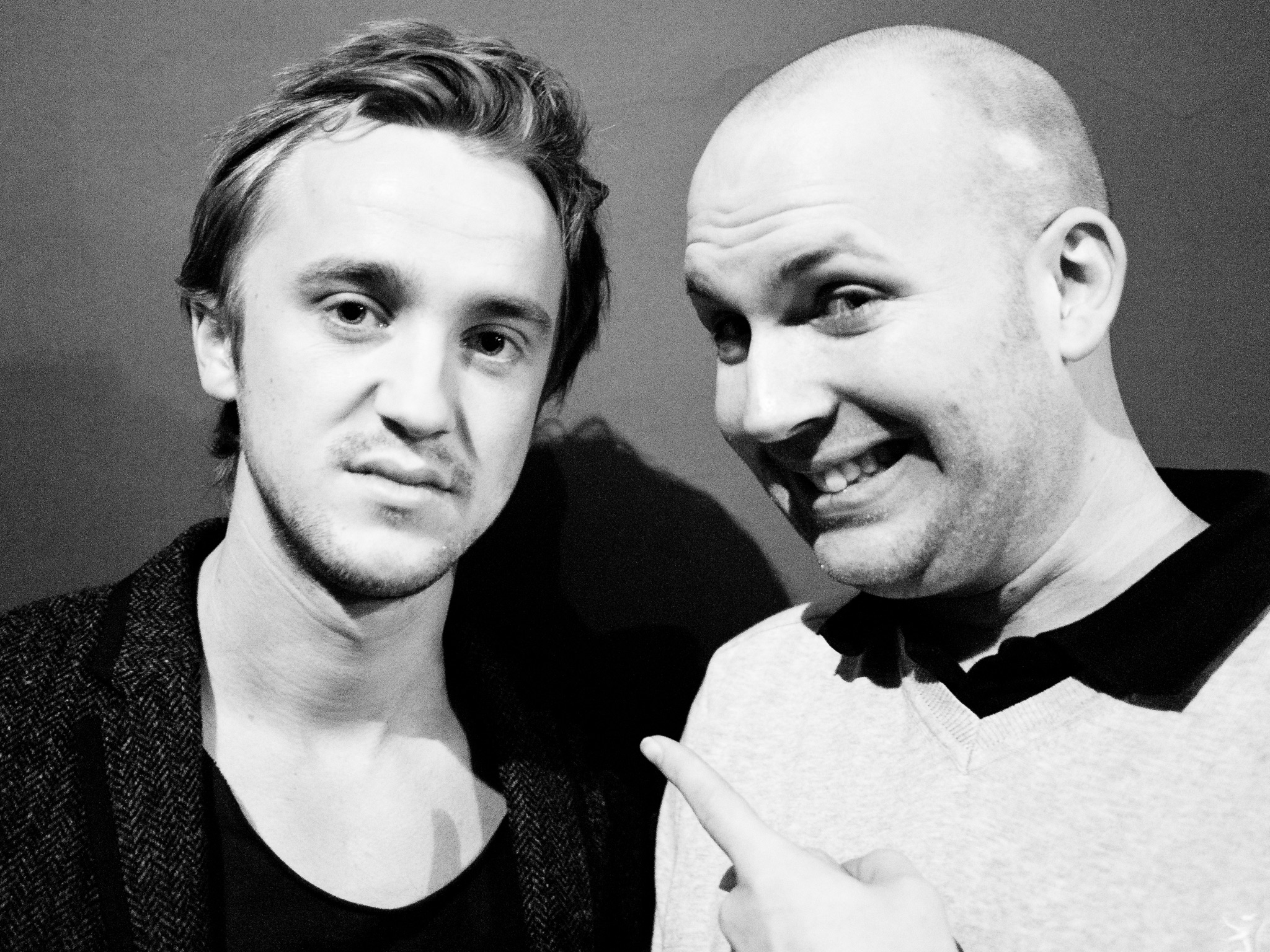 Who's Jack Magazine Editorial Photoshoot Celebrity Actor Tom Felton Harry Potter Draco Malfoy Outtakes BTS Behind the Scenes Jay McLaughlin