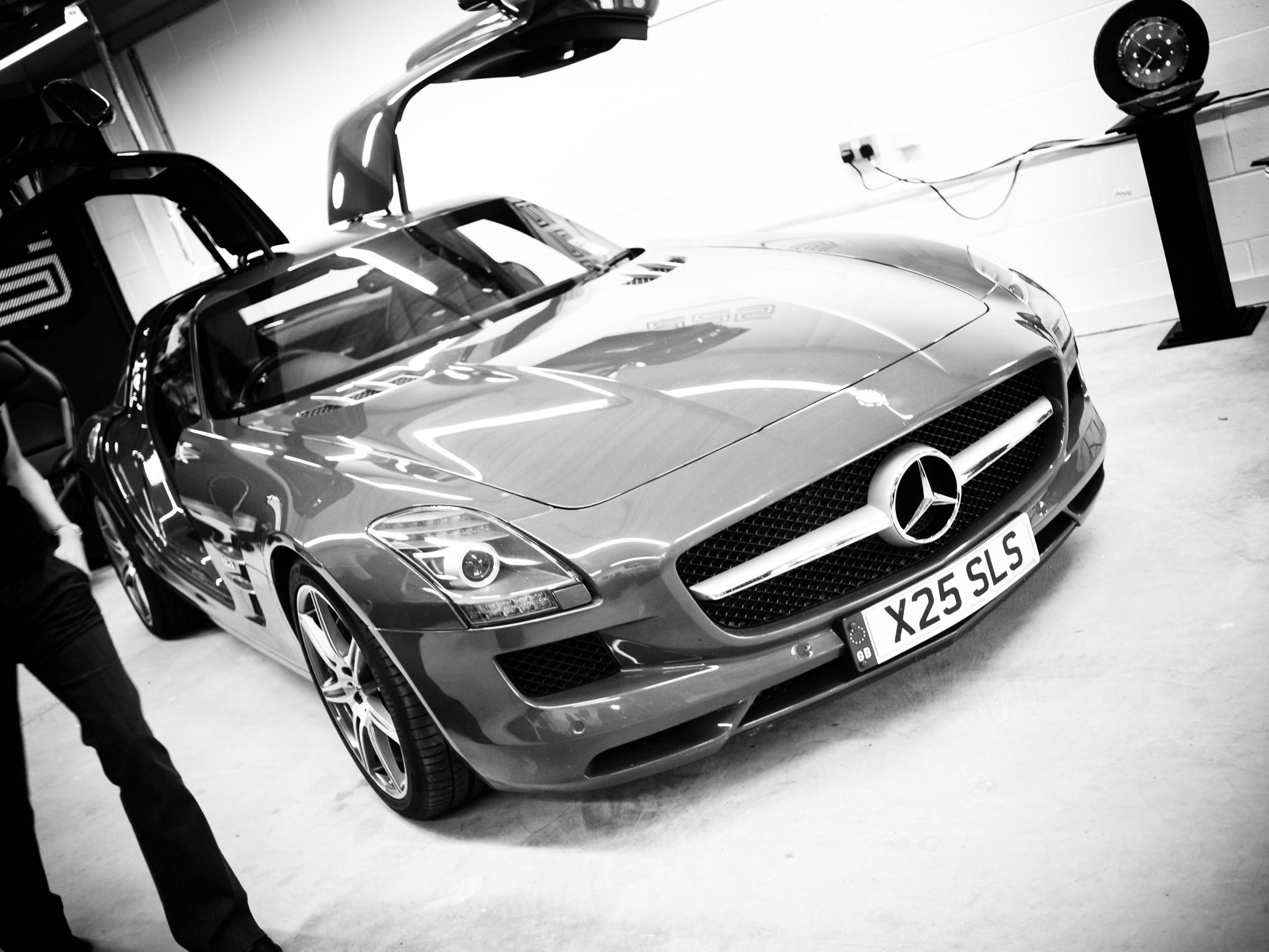 Écurie25 é25 Supercar Supercars Launch Event Silverstone Mercedes AMG SLS