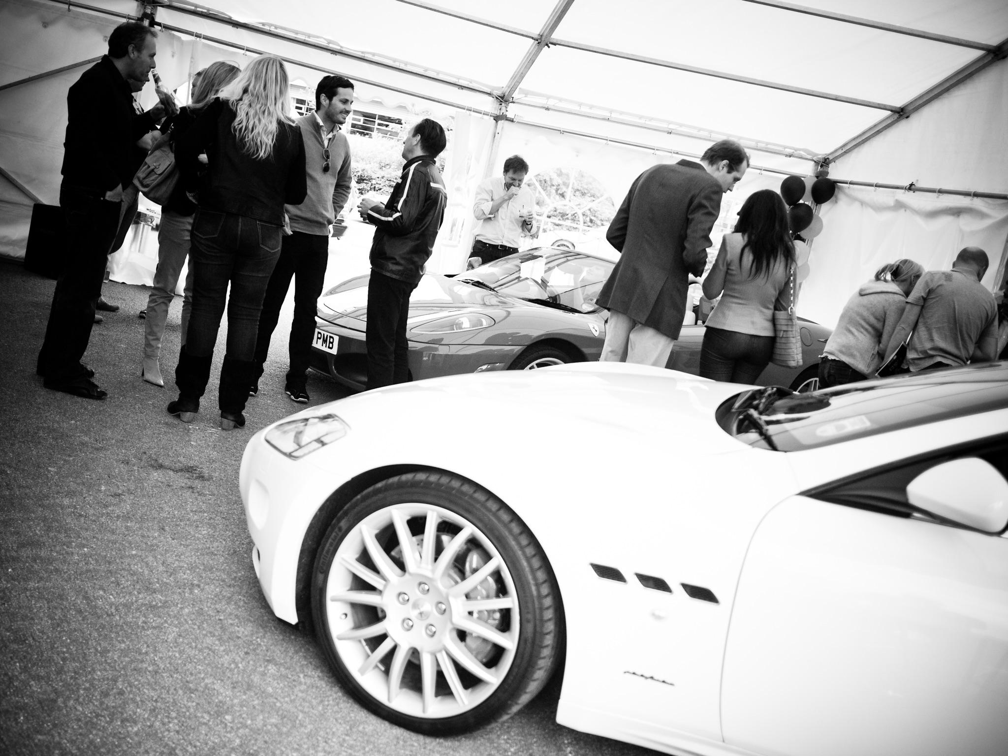 Écurie25 é25 Supercar Supercars Launch Event SilverstoneMaserati
