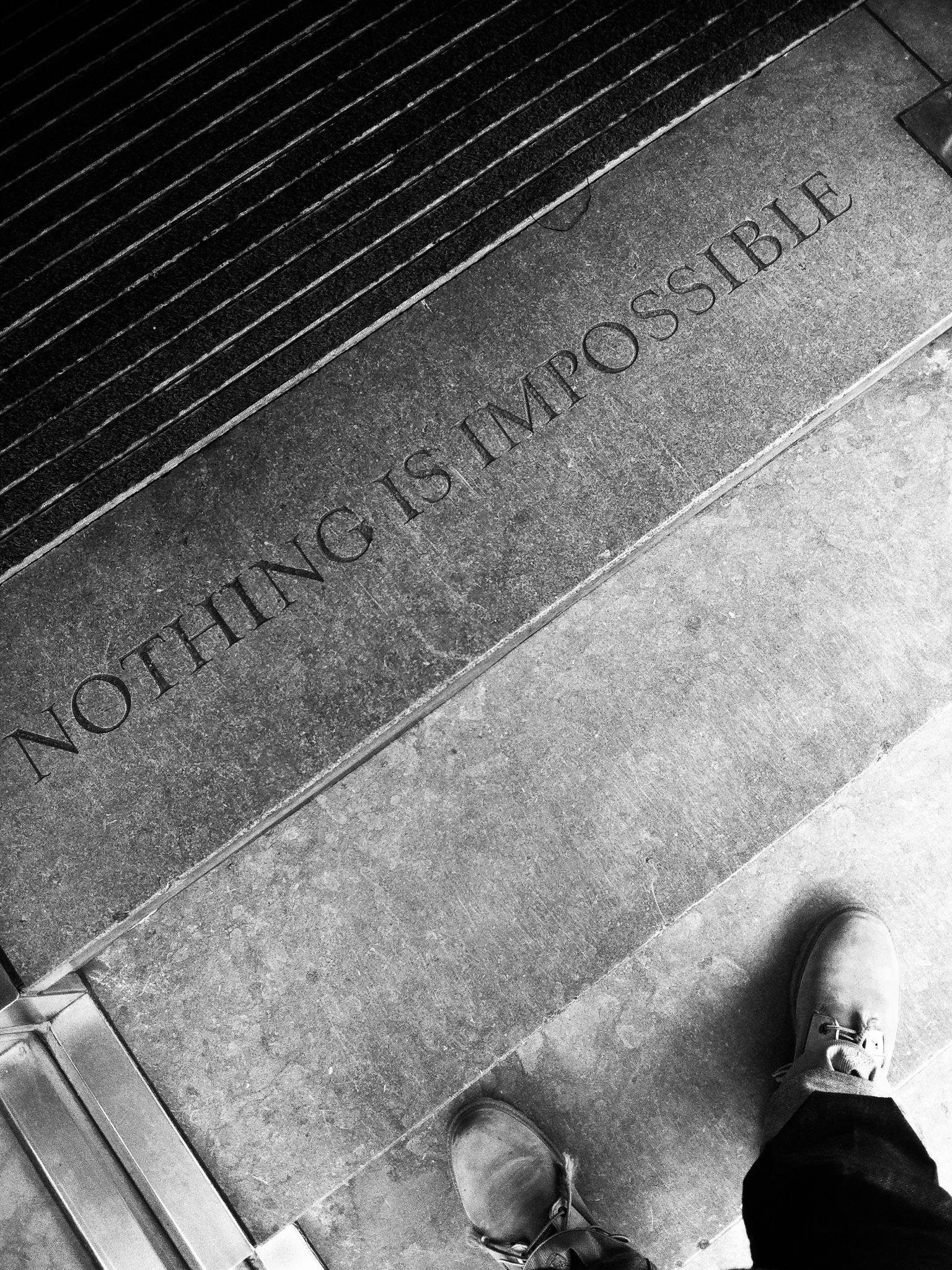 Nothing is Impossible Saatchi & Saatchi