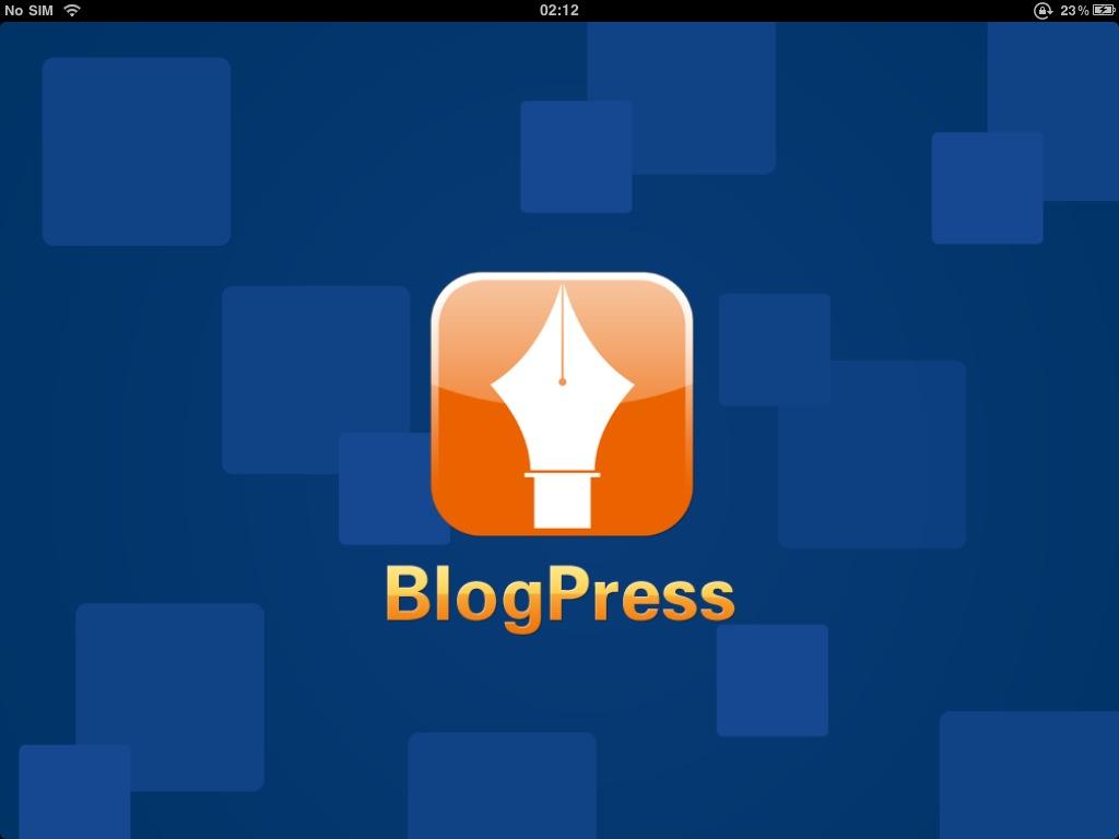 Top iPad Apps Apple iOS BlogPress Blogging Blogger Blogspot