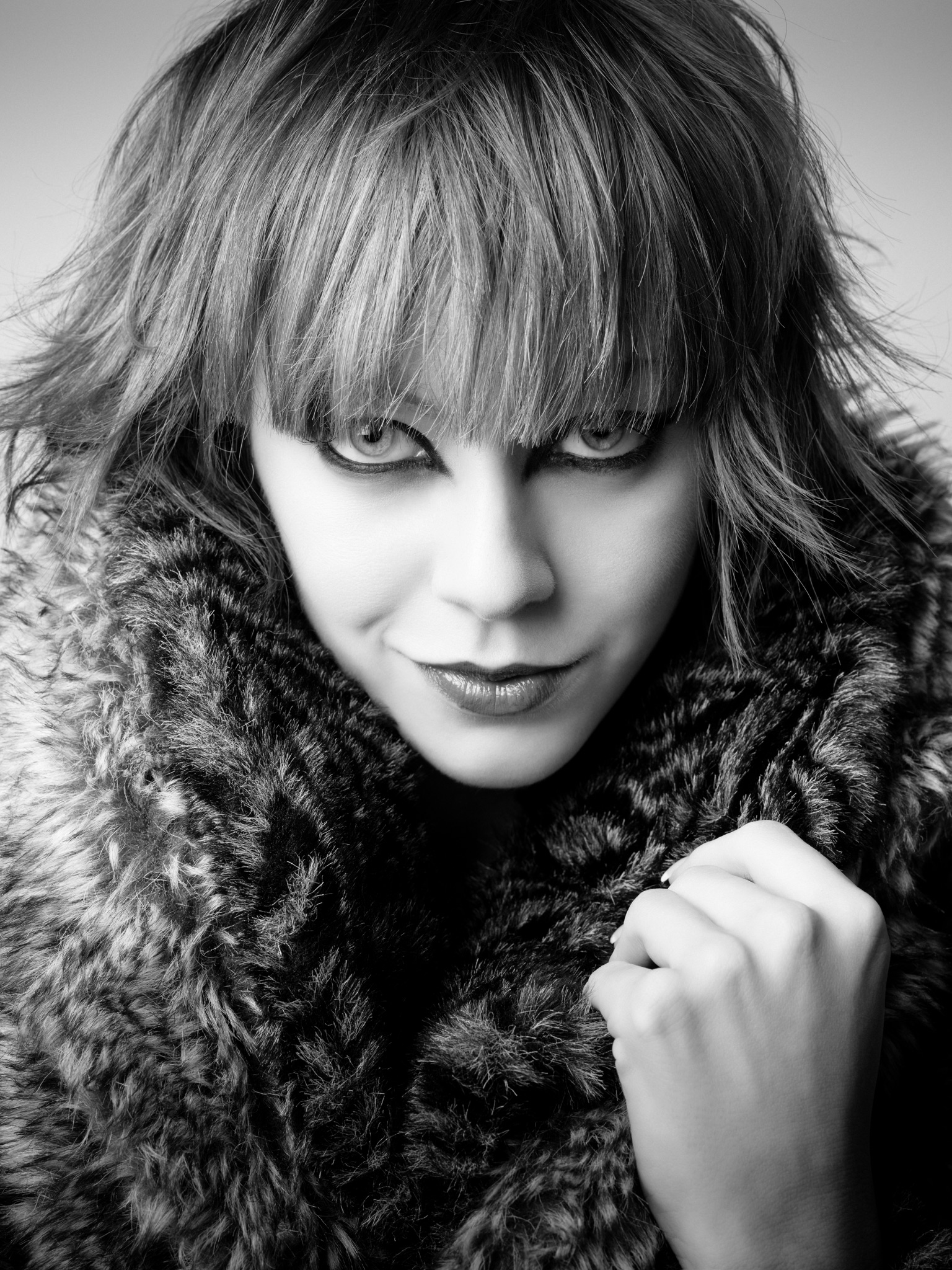 Jay McLaughlin 2009 Model Portrait Fashion Photoshoot Photographer Photography Vicki Blatchley