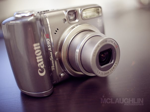 Canon Powershot A590IS Camera