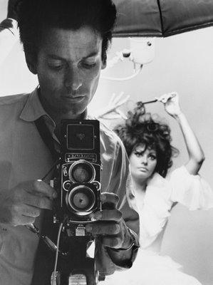Richard Avedon Inspiration Selfie Rolleiflex