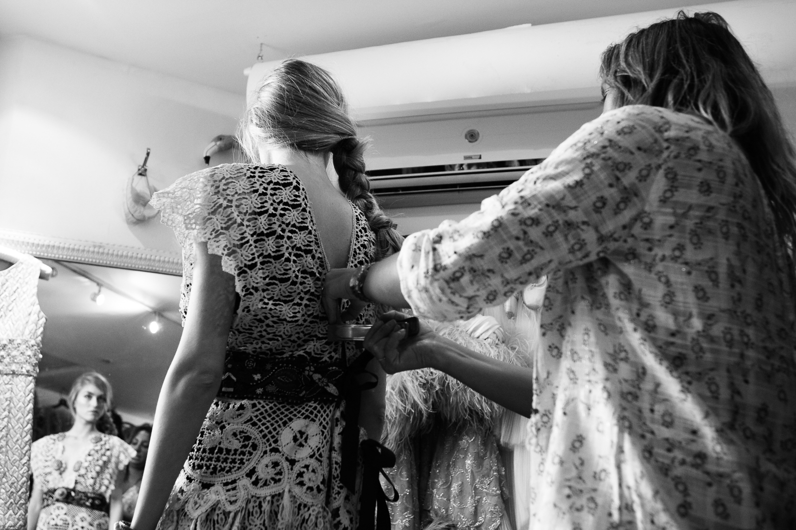 D&Me One Vintage Fashion Photoshoot Campaign Bo Janicic Jay McLaughlin BTS Behind The Scenes